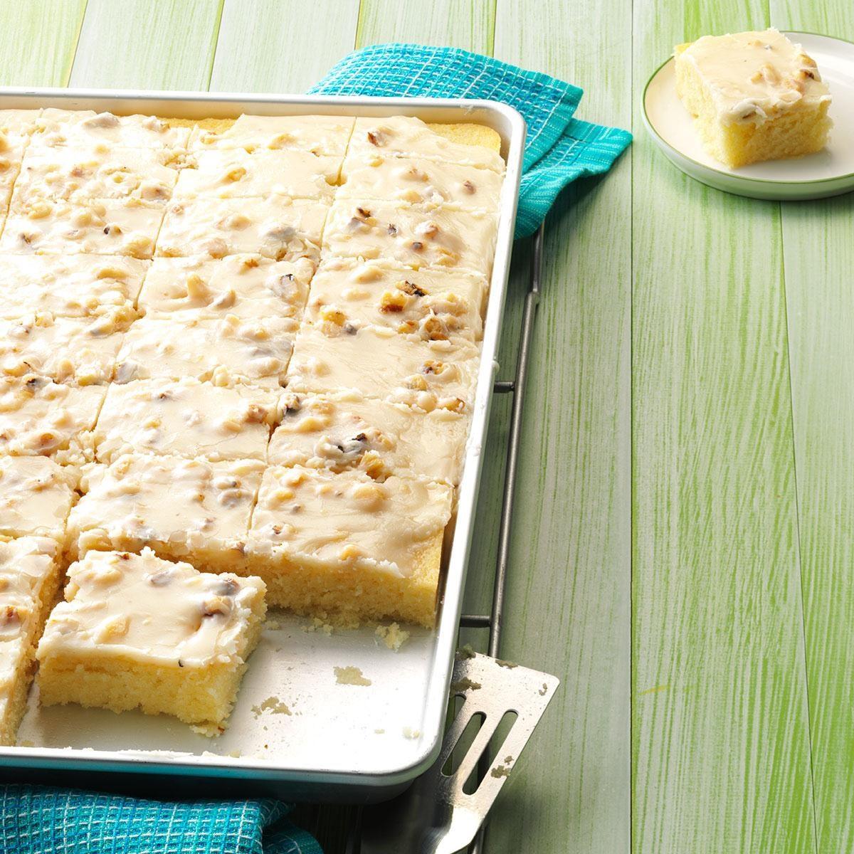 Taste Of Home Lemon Sheet Cake