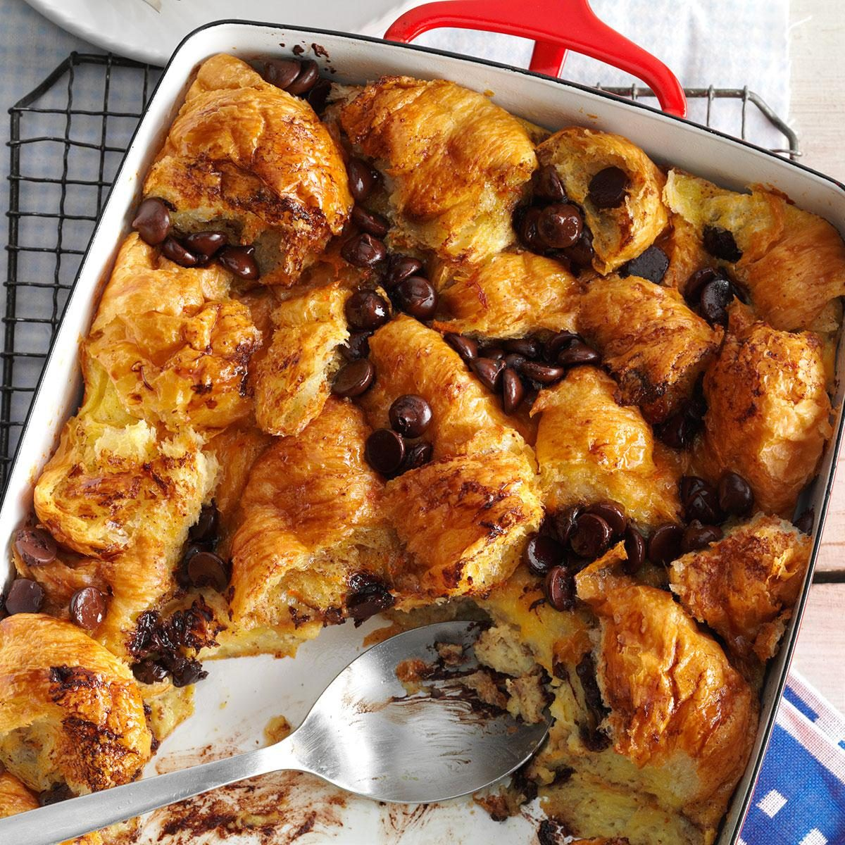 Chocolate Bread Pudding America S Test Kitchen