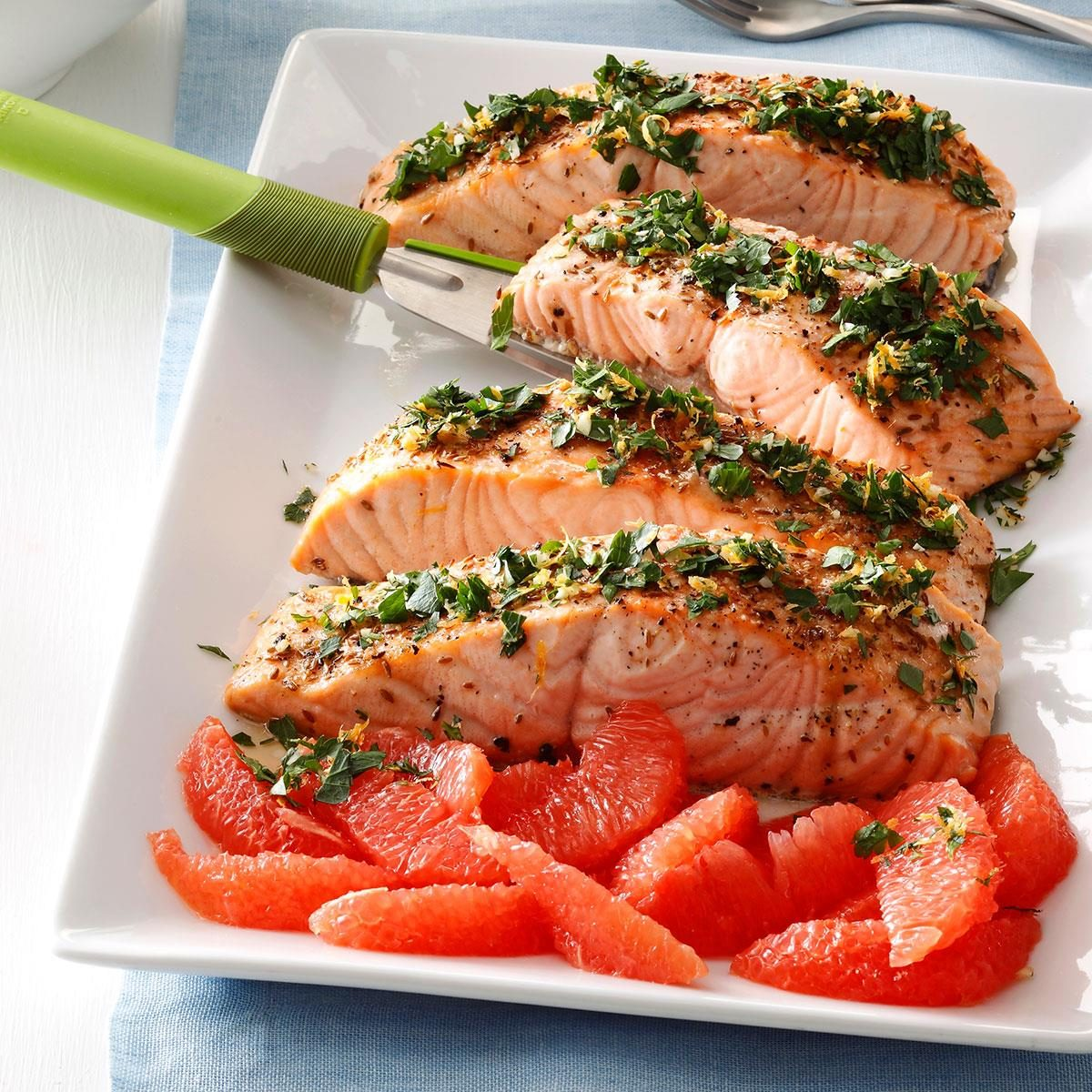 Grapefruit-Gremolata Salmon Recipe