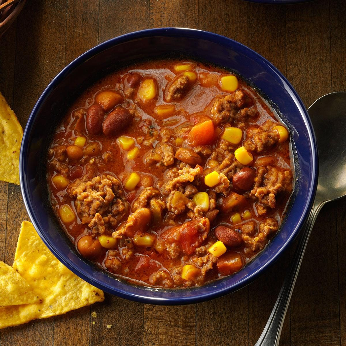 Simple Taco Soup Recipe | Taste of Home