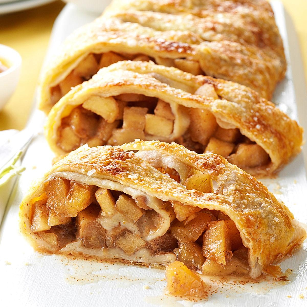 Caramel Apple Strudel Recipe | Taste of Home