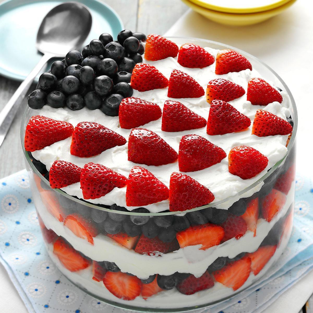 Red White And Blue Dessert Recipe Taste Of Home