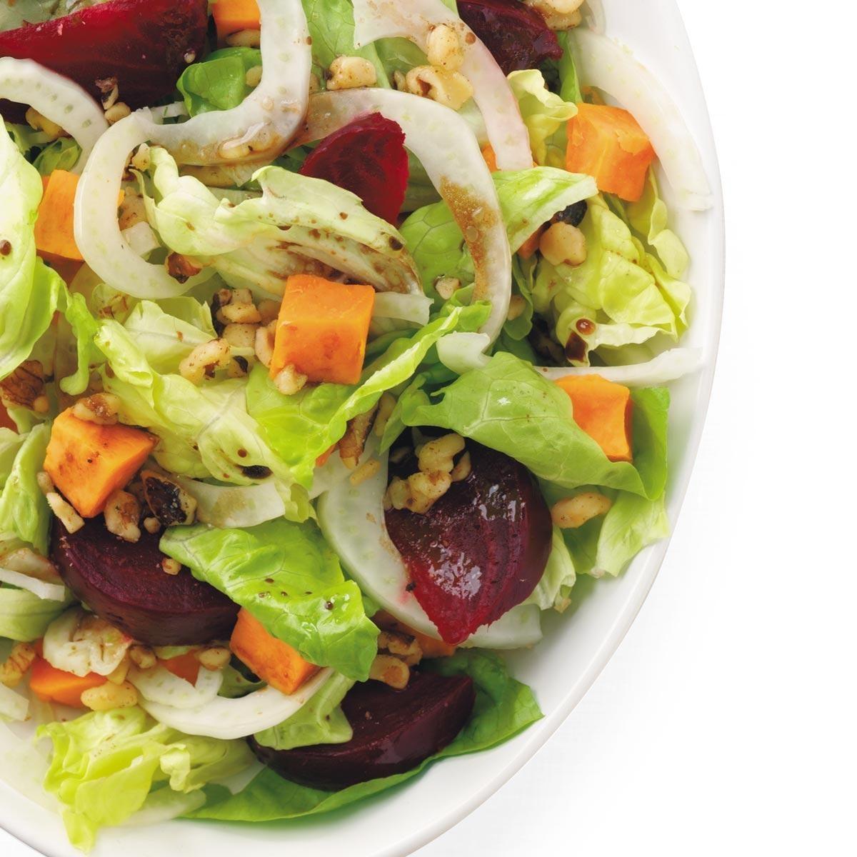 roasted beet and sweet potato salad recipe taste of home