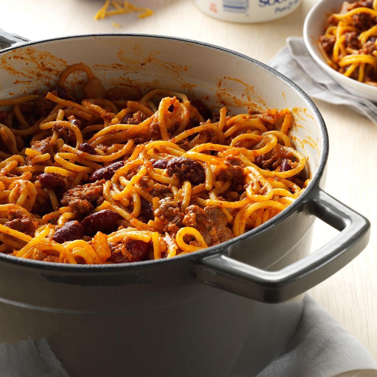 One-Pot Chilighetti Recipe