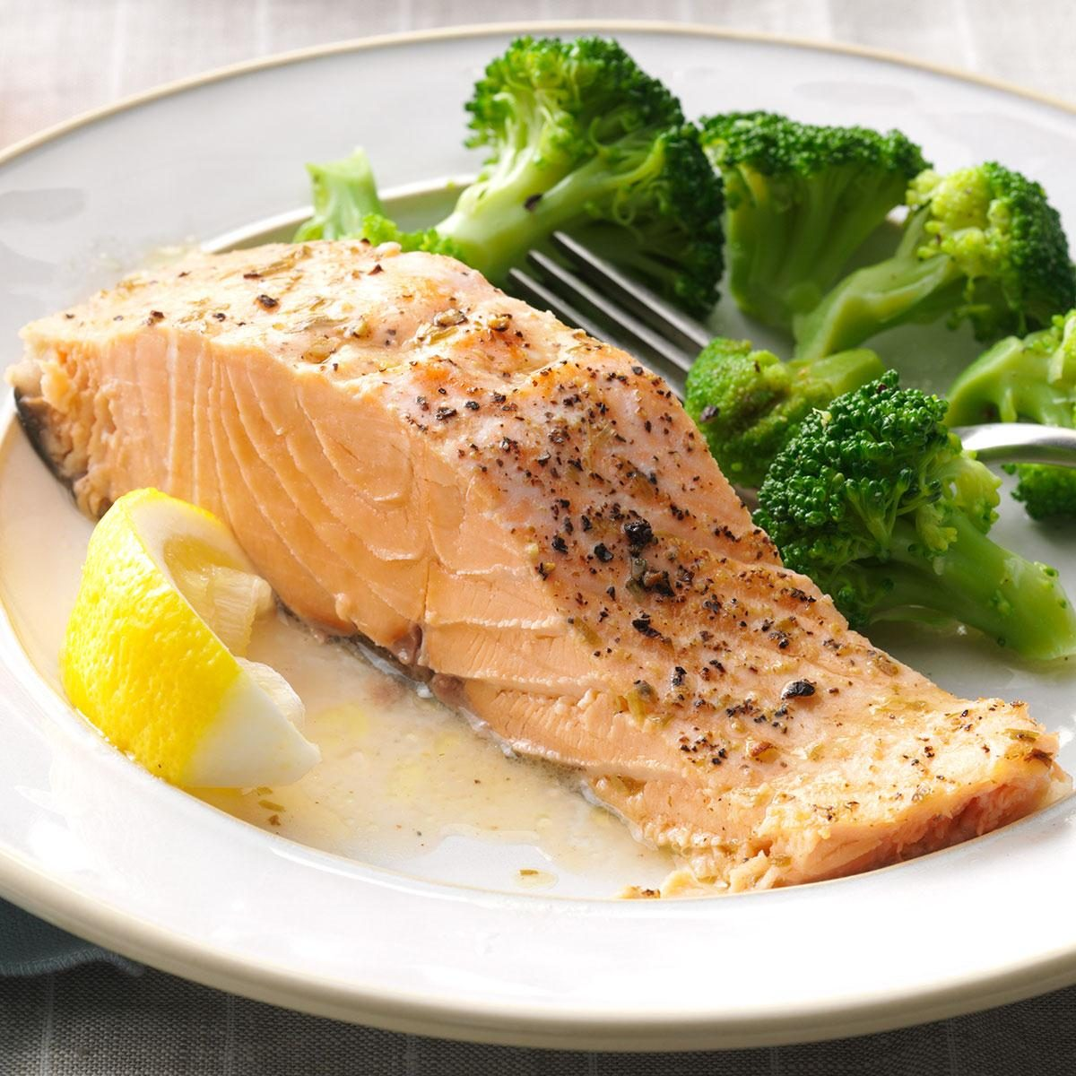 Baked salmon recipe taste of home ccuart Choice Image