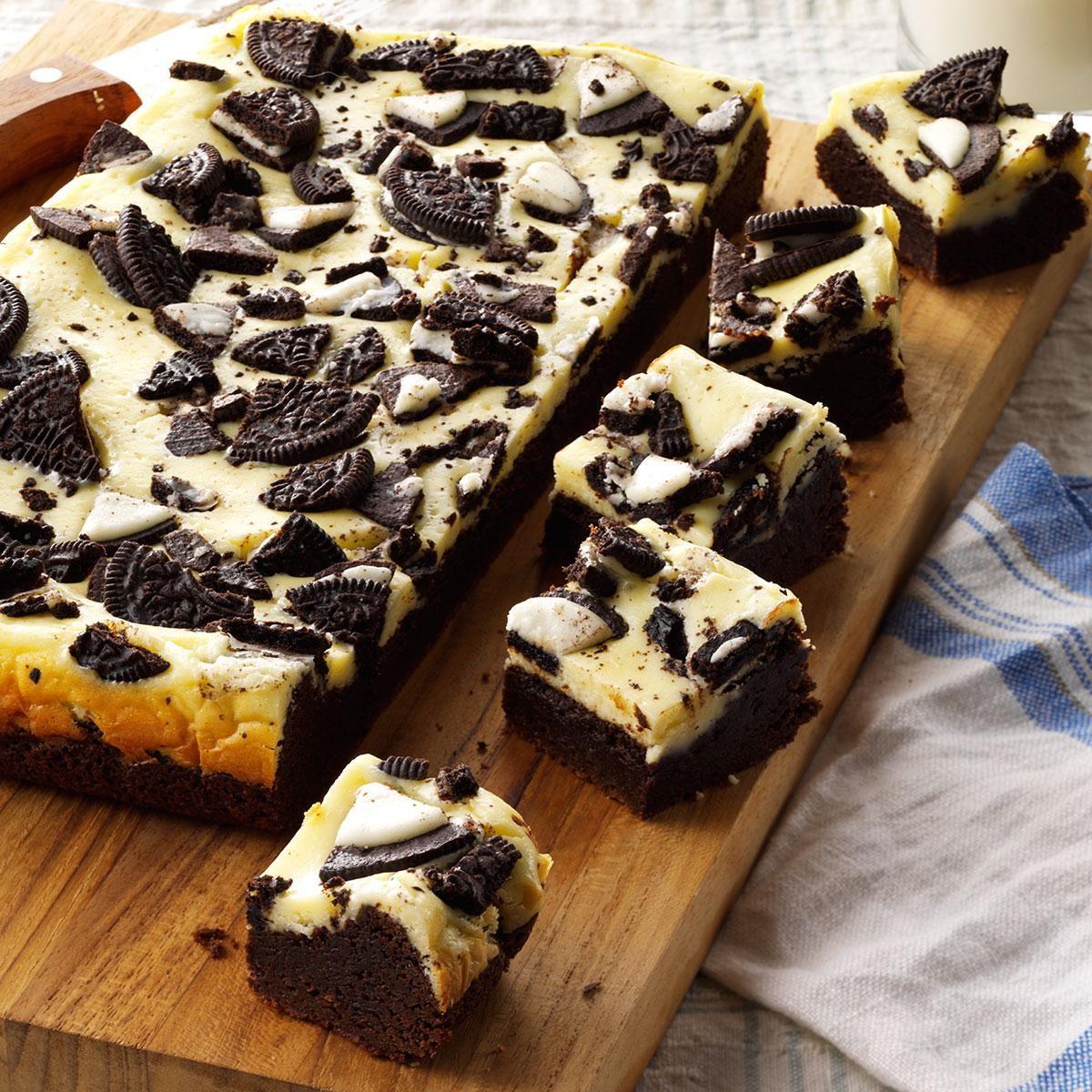 Cookies N Cream Brownies Recipe | Taste of Home