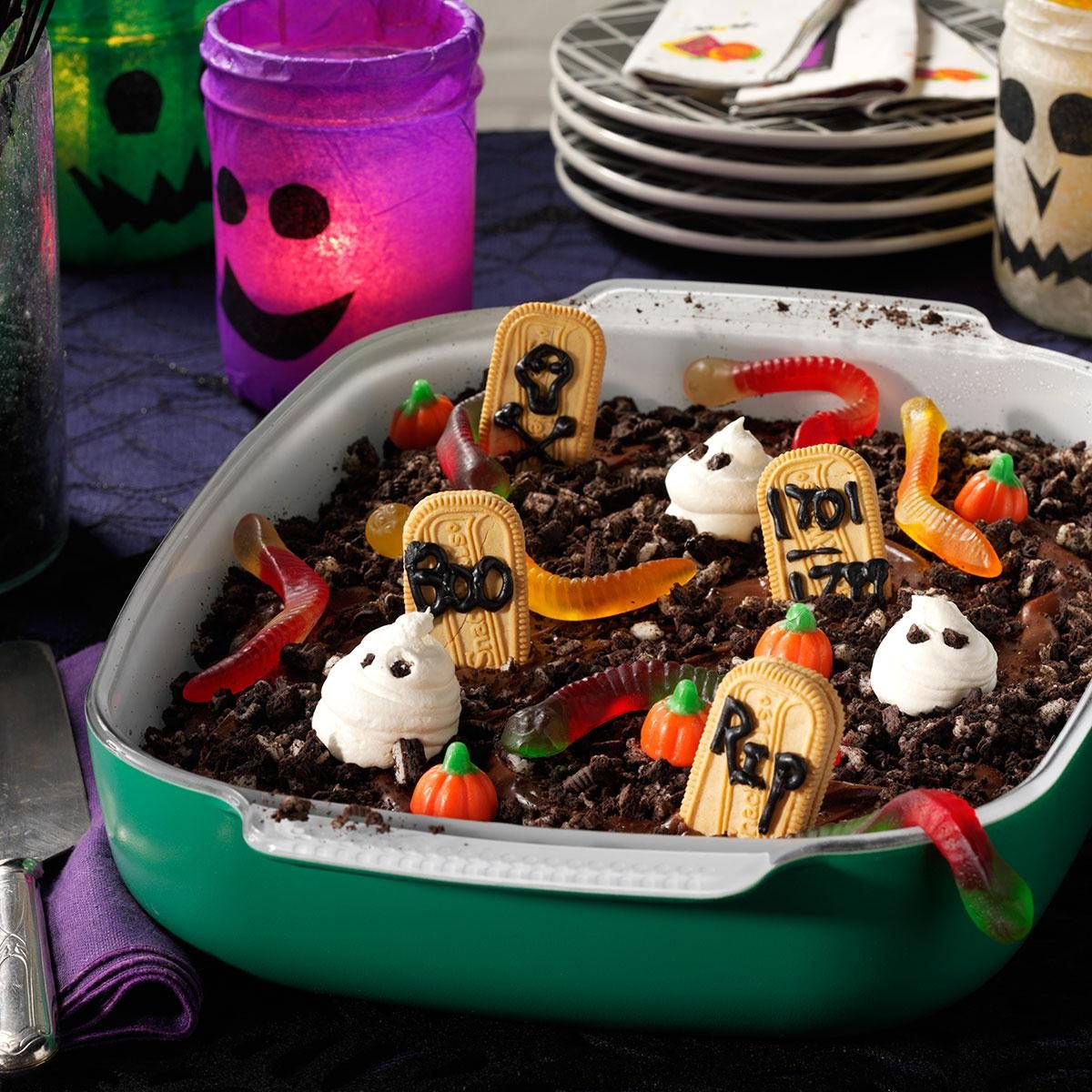 Graveyard Cake Recipe Taste Of Home