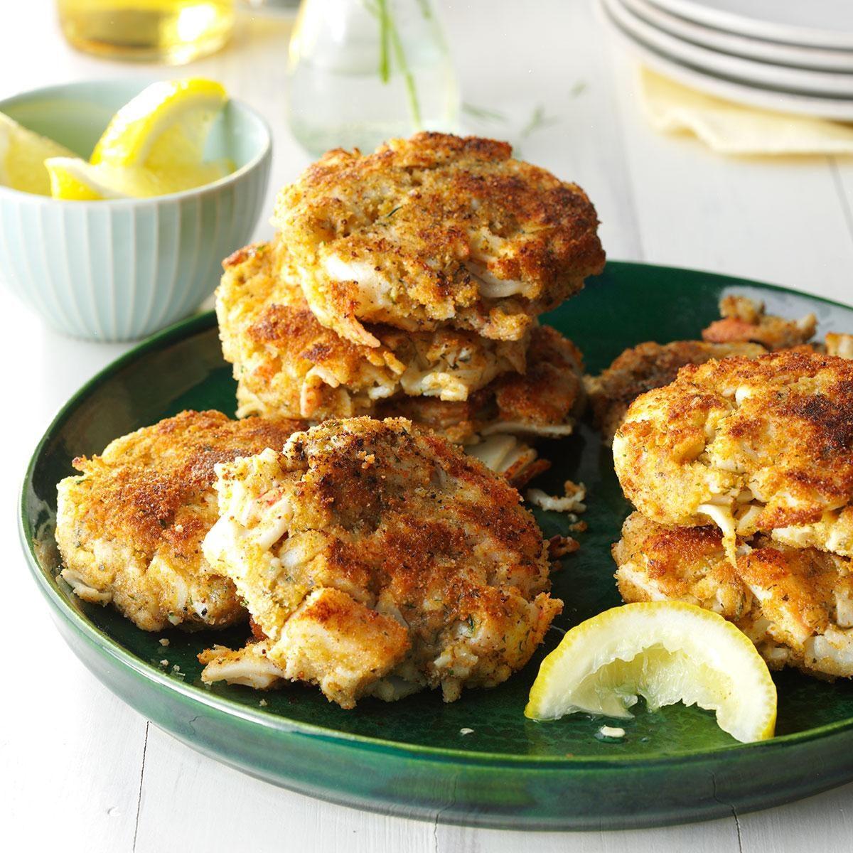 Taste Of Home Heavenly Crab Cakes