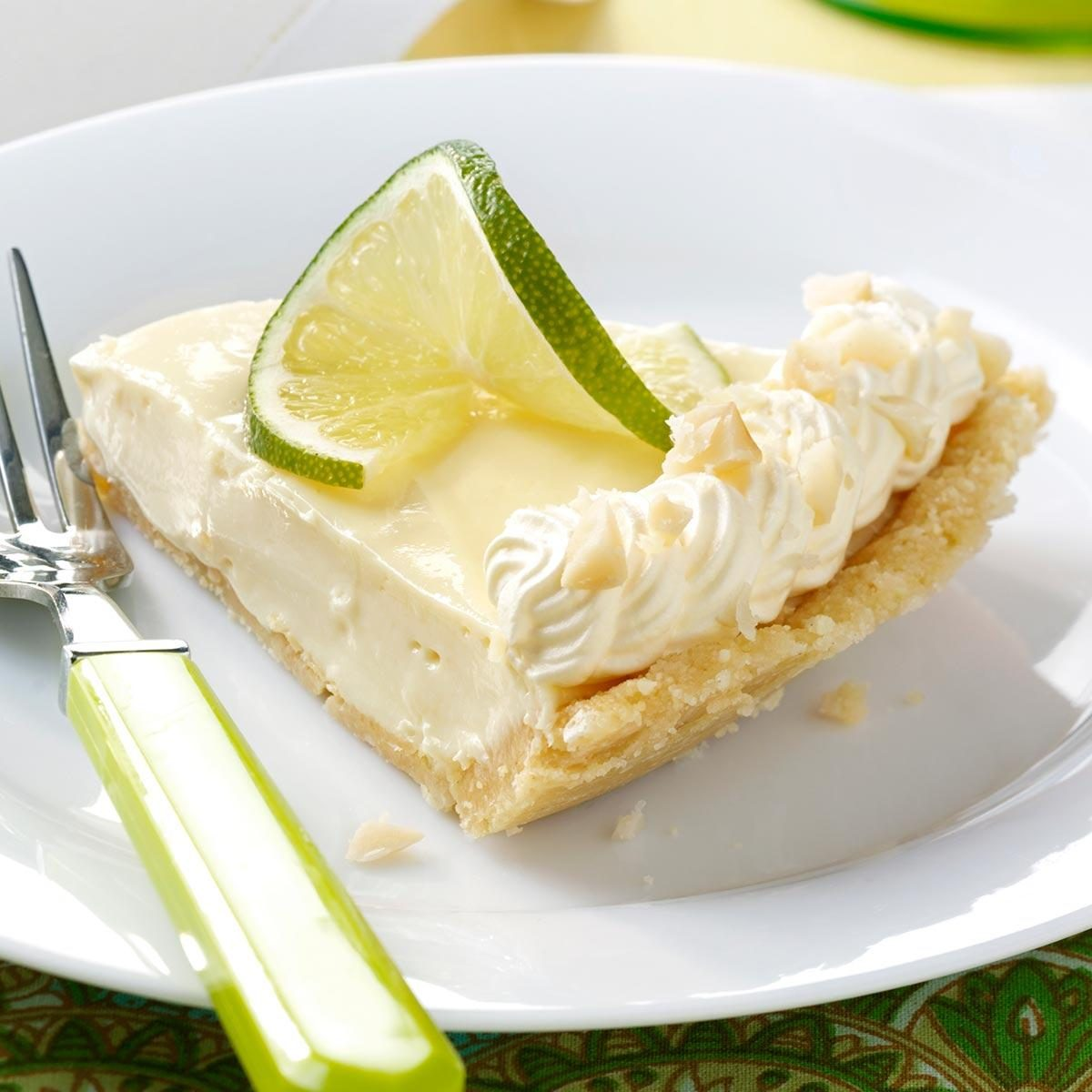 Macadamia Key Lime Pie Recipe | Taste of Home
