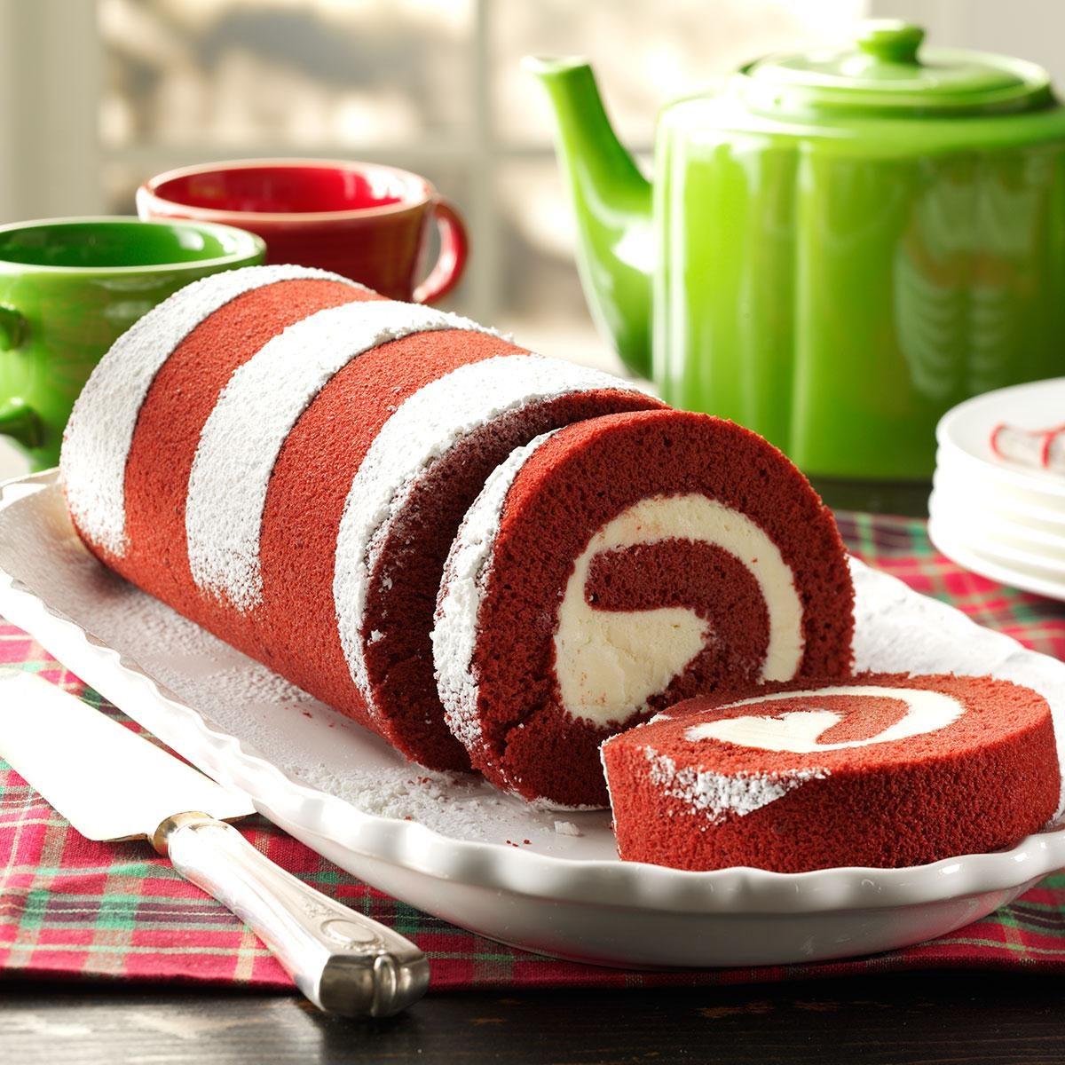 Recipe For A Red Velvet Cake Roll