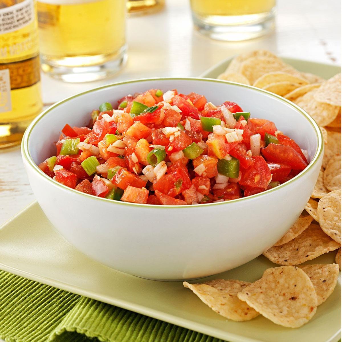Garden Salsa Recipe   Taste of Home