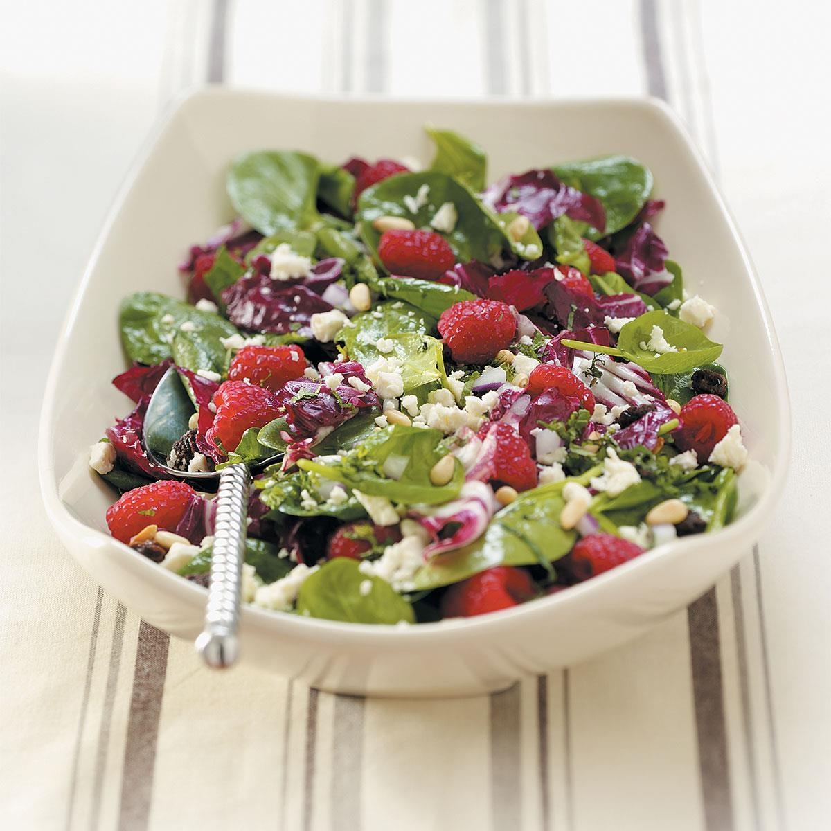 Special Radicchio-Spinach Salad Recipe
