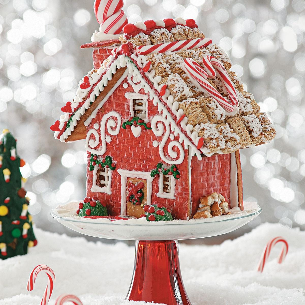 """""""Home Sweet Home"""" Gingerbread Cottage Recipe"""