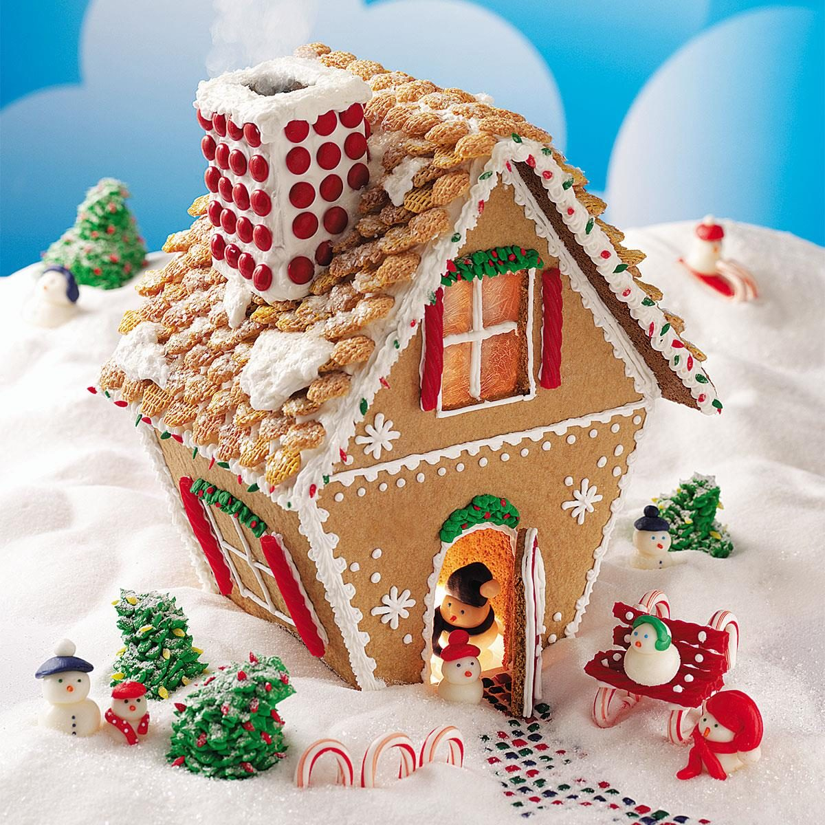 Winter Wonderland Gingerbread Cottage Recipe Taste Home