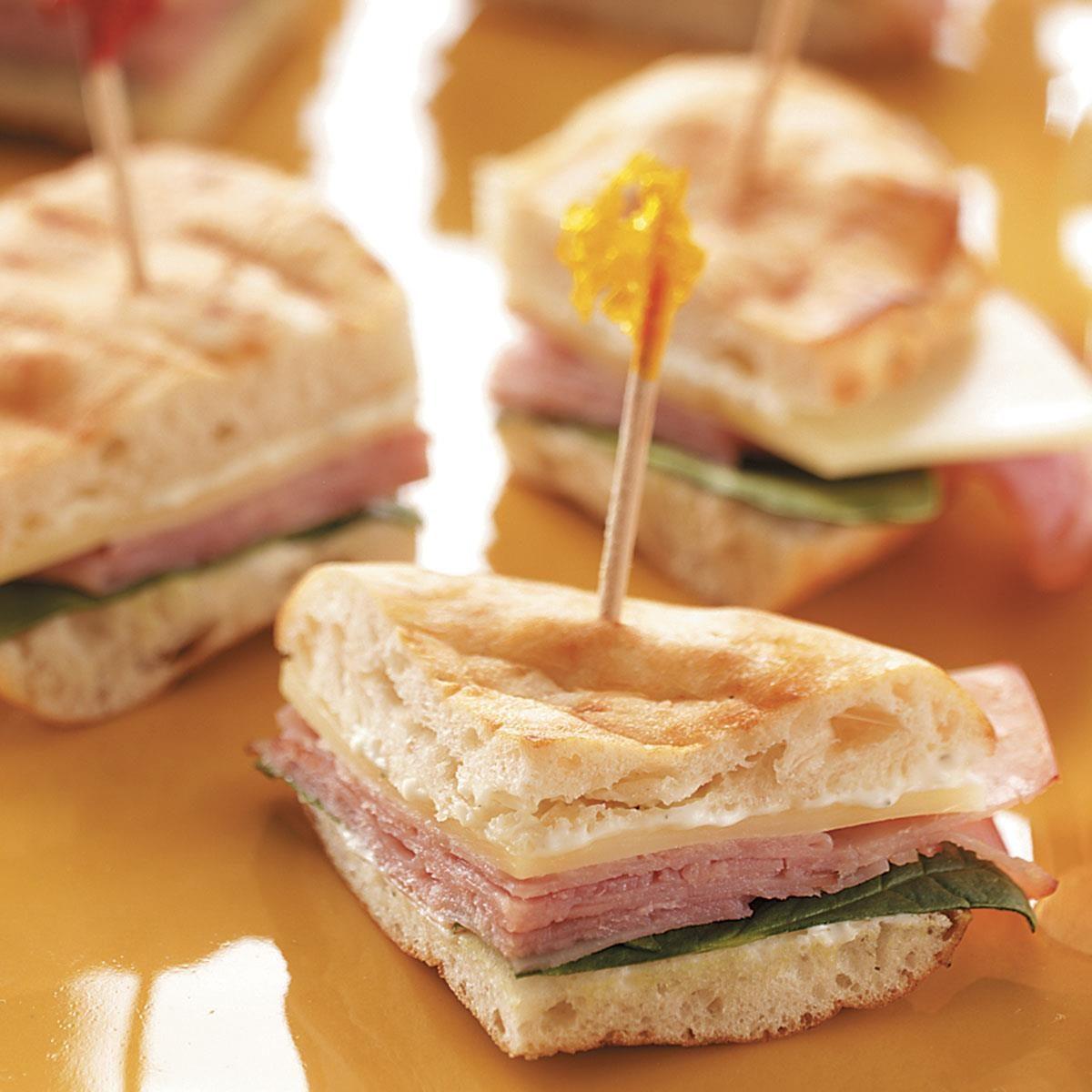 Wedding Foods Recipes: Party Pitas Recipe