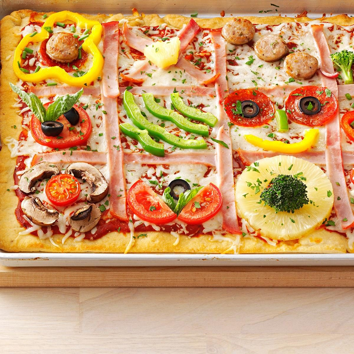 50 easy weeknight dinners taste of home family quilt pizza forumfinder Images