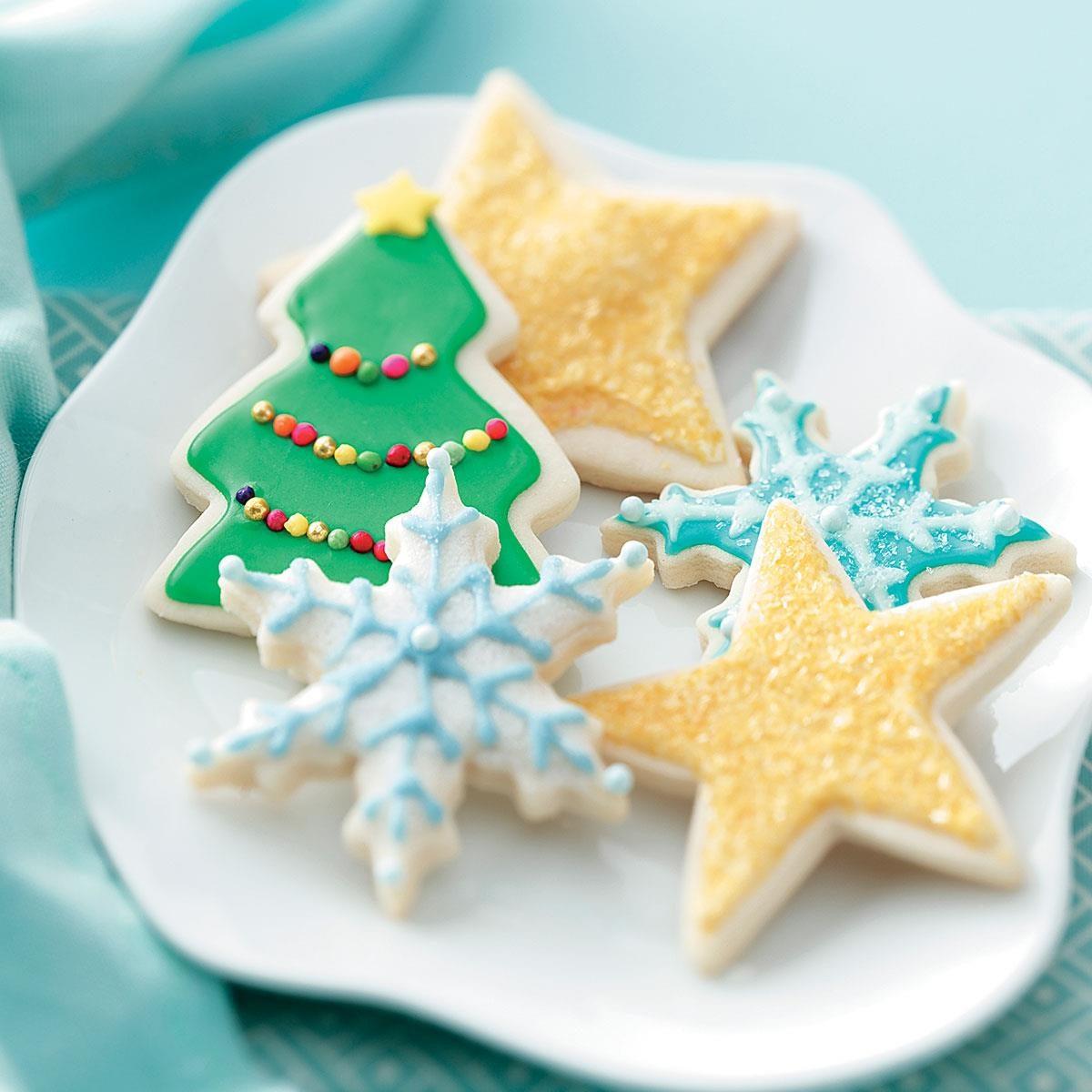 How to make christmas sugar cookies - How To Make Christmas Sugar Cookies 19