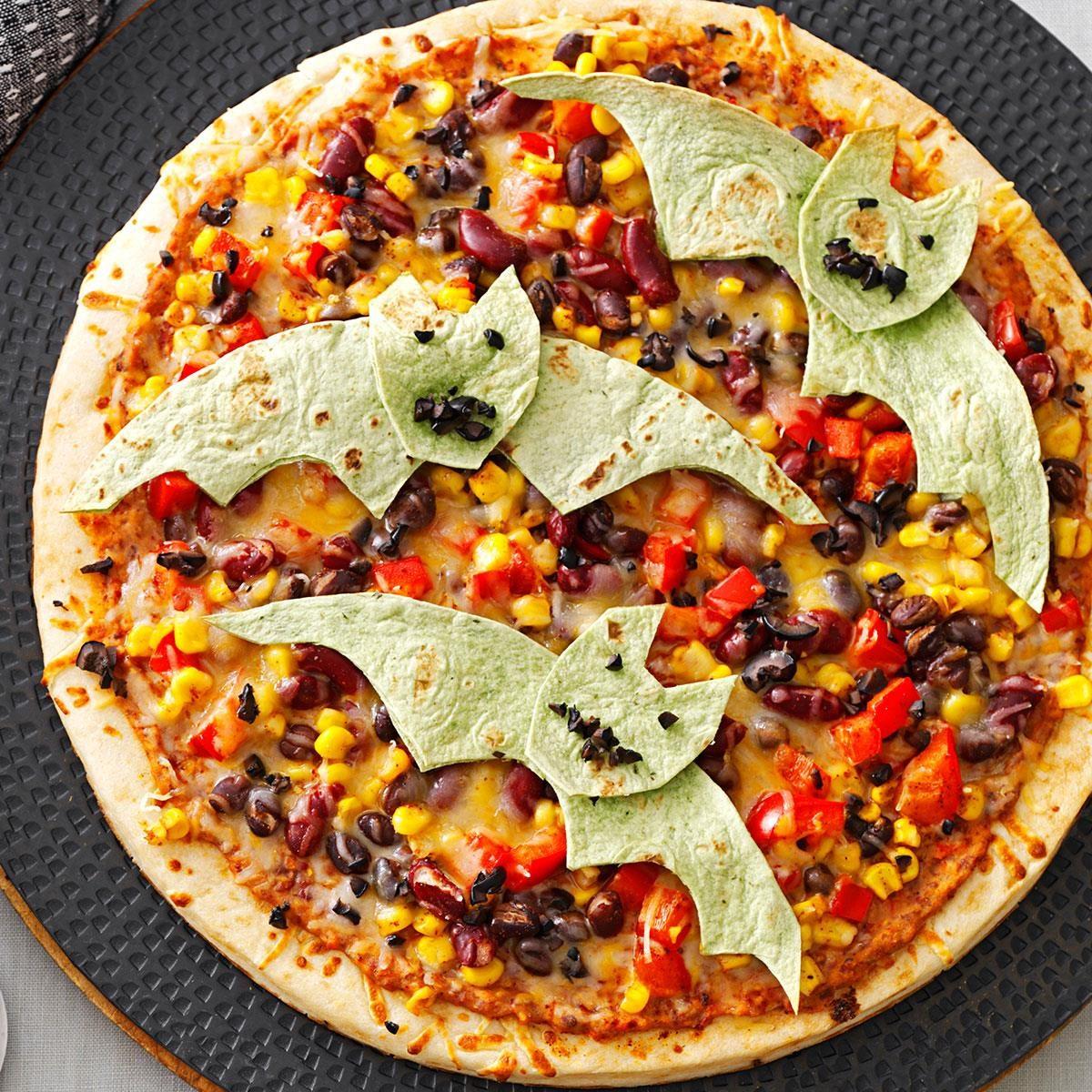 Flying Bat Pizzas Recipe | Taste of Home