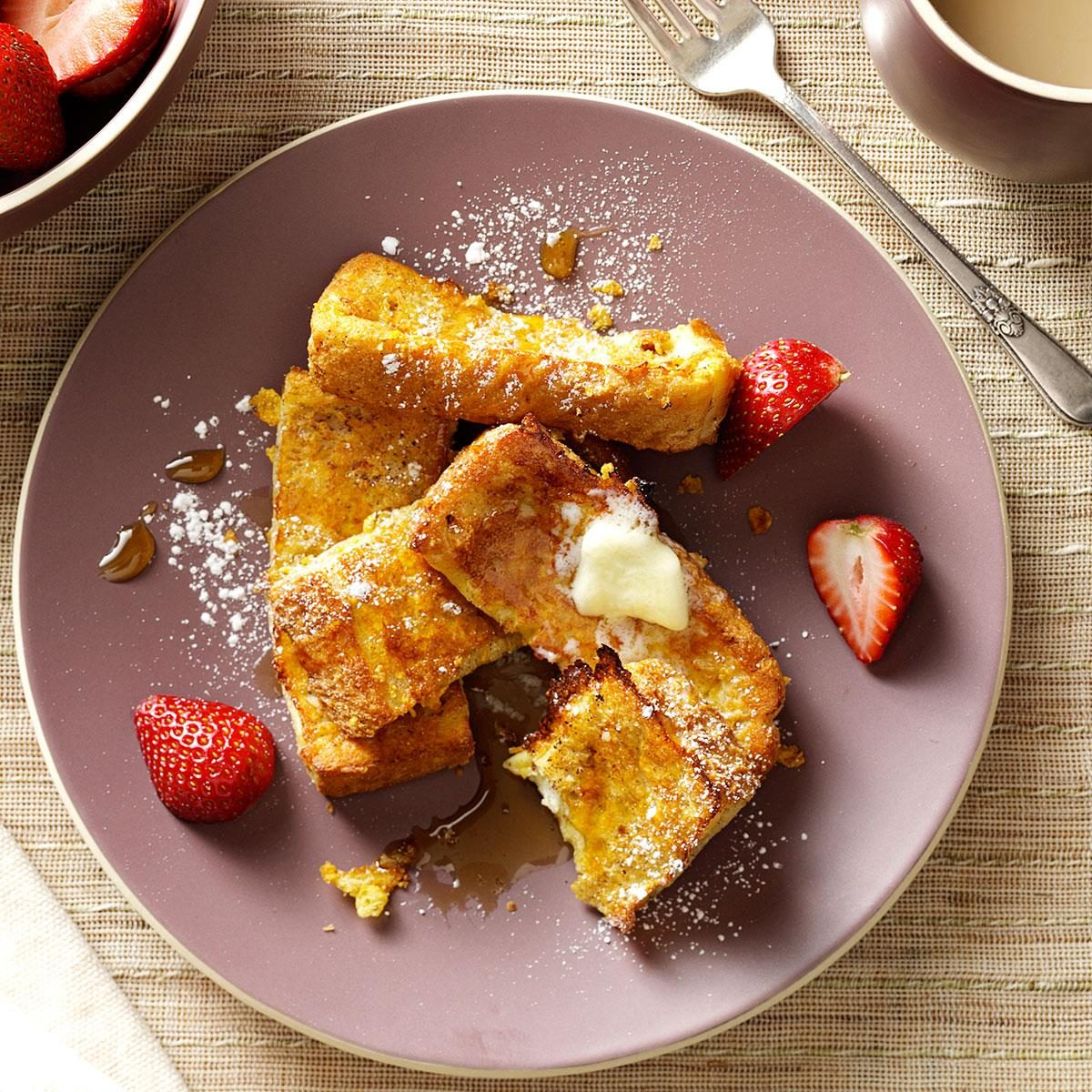 French toast sticks recipe taste of home ccuart Images