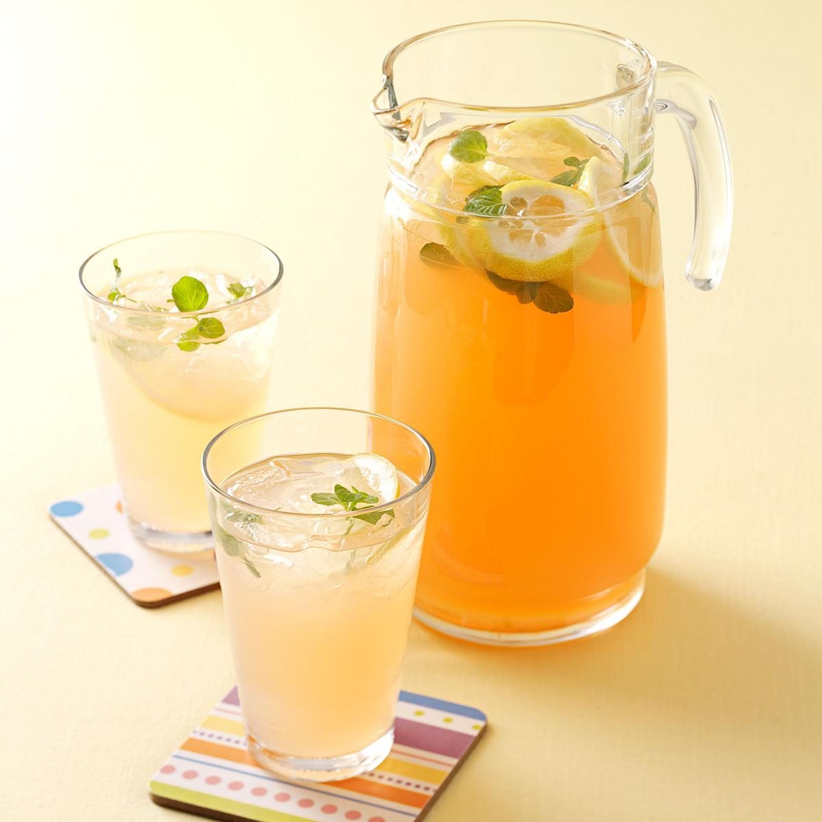 Slow Juicer Lemonade : Fresh Peach Lemonade Recipe Taste of Home