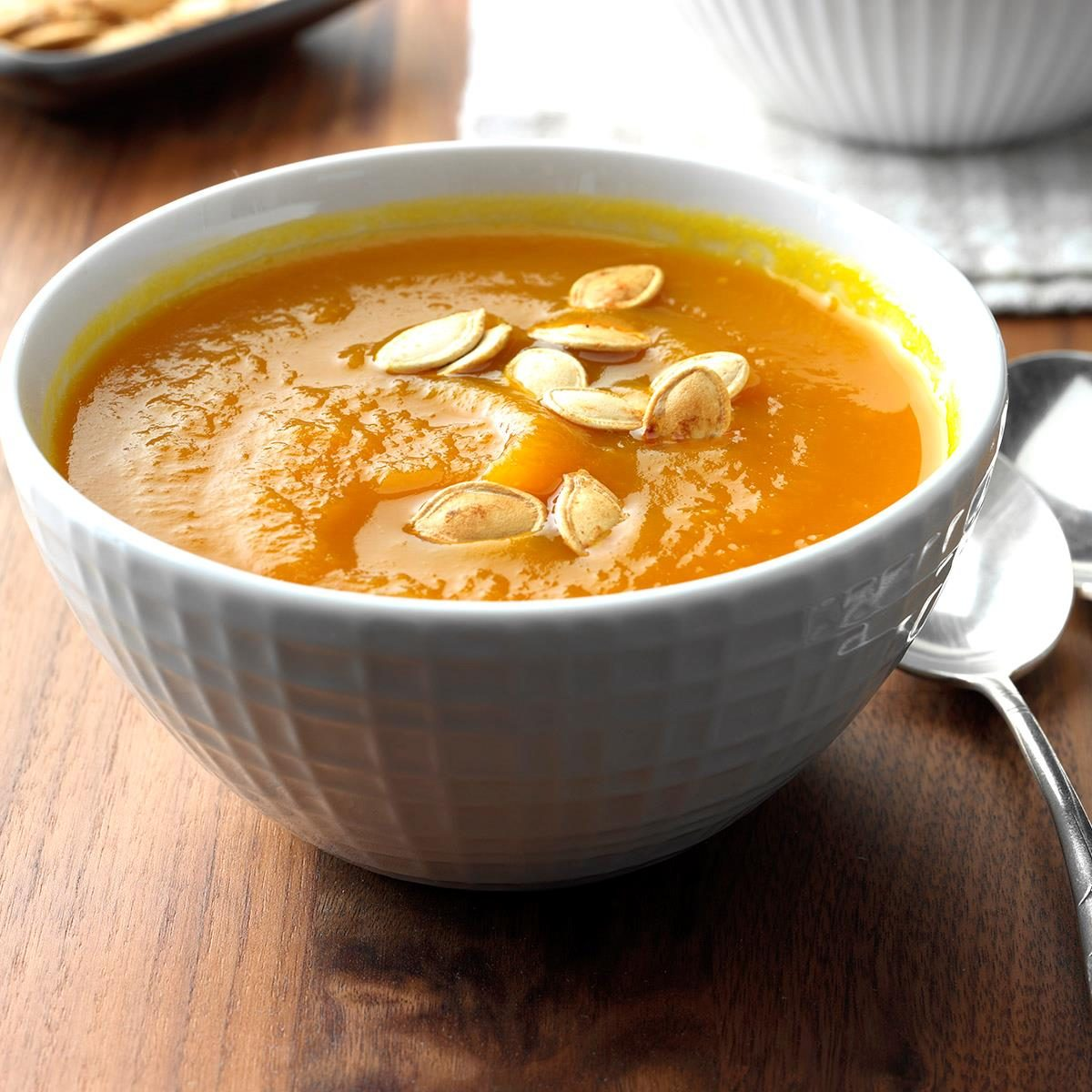Fresh Pumpkin Soup Recipe Taste Of Home