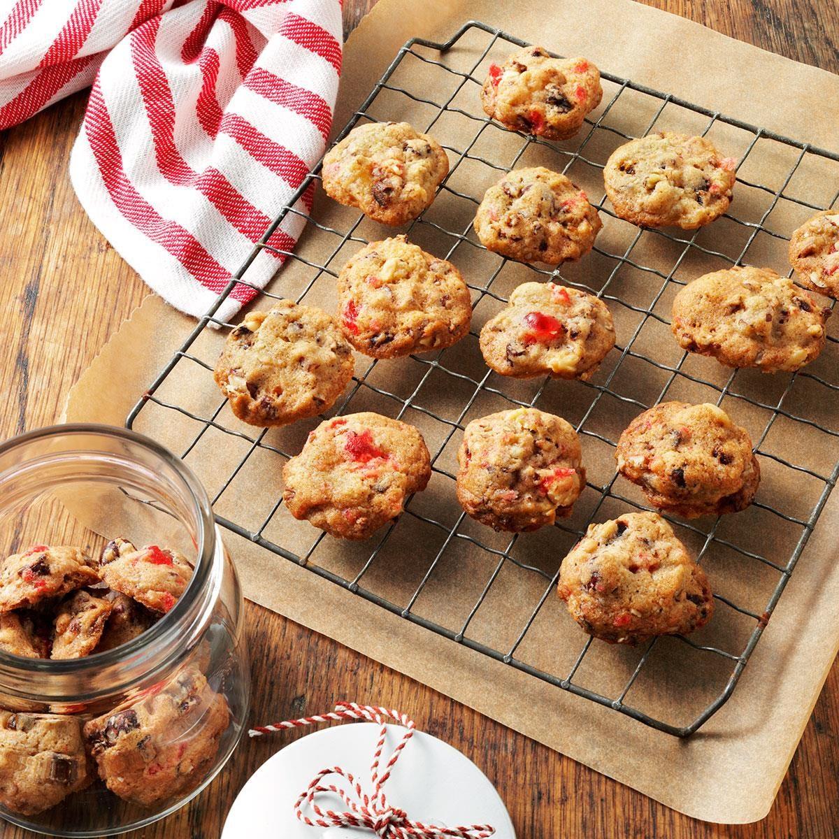 Fruitcake christmas cookies recipe taste of home