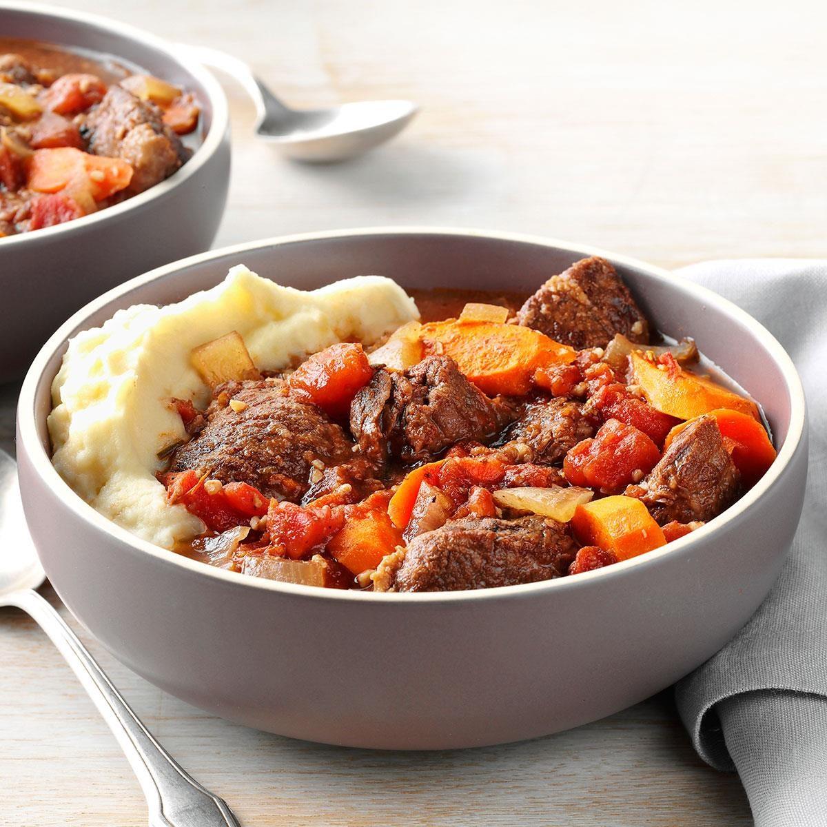 Garlic Lover's Beef Stew Recipe