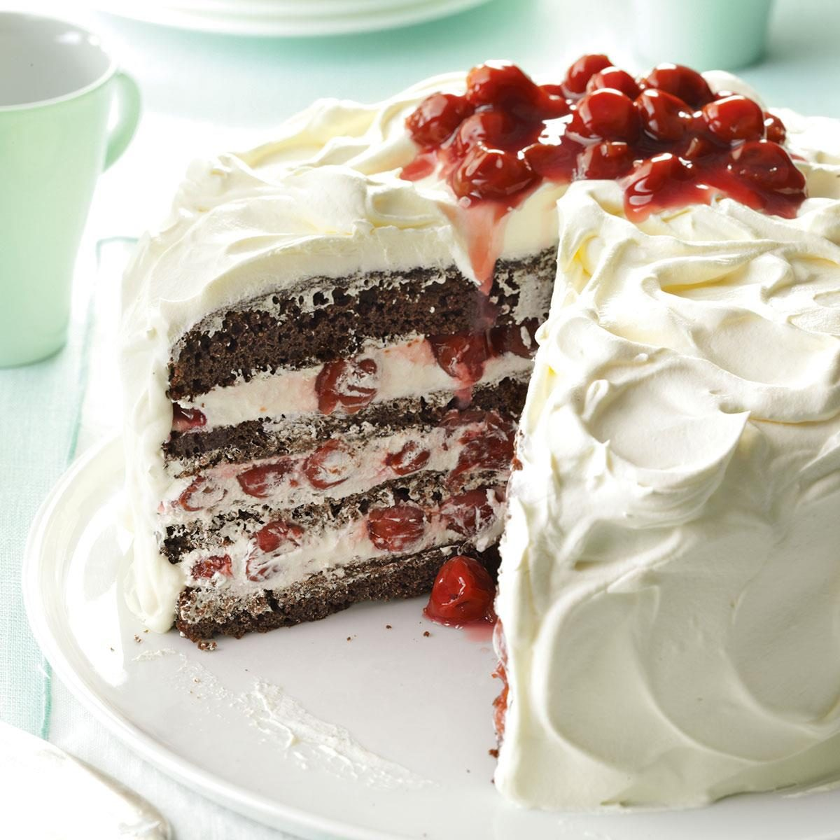 Black forest cake recipe at home