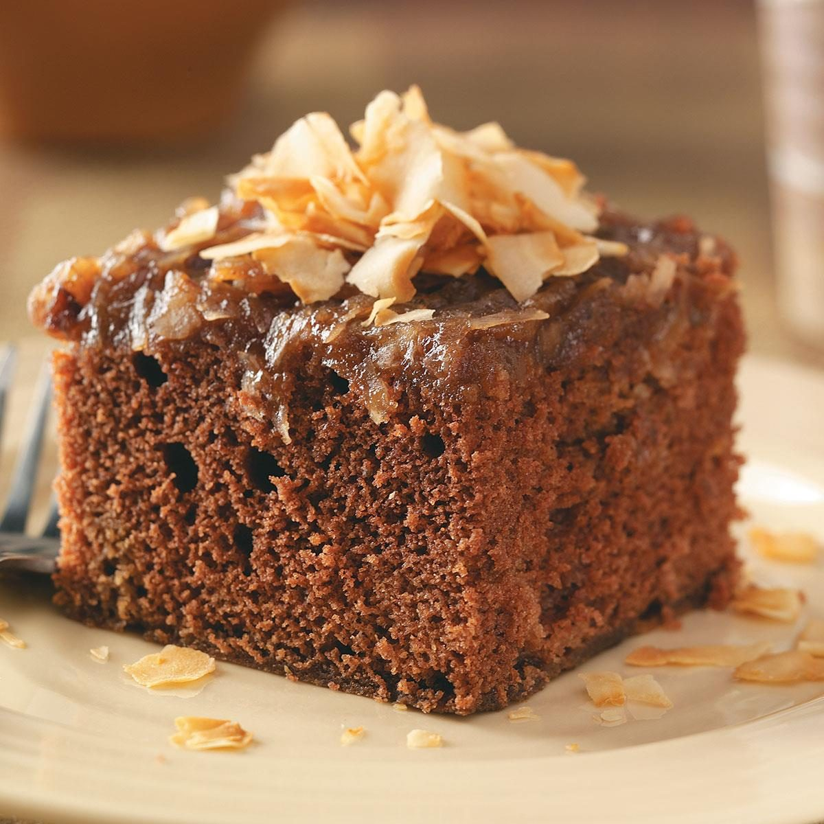 german chocolate cake from scratch german chocolate cake recipe taste of home 4483
