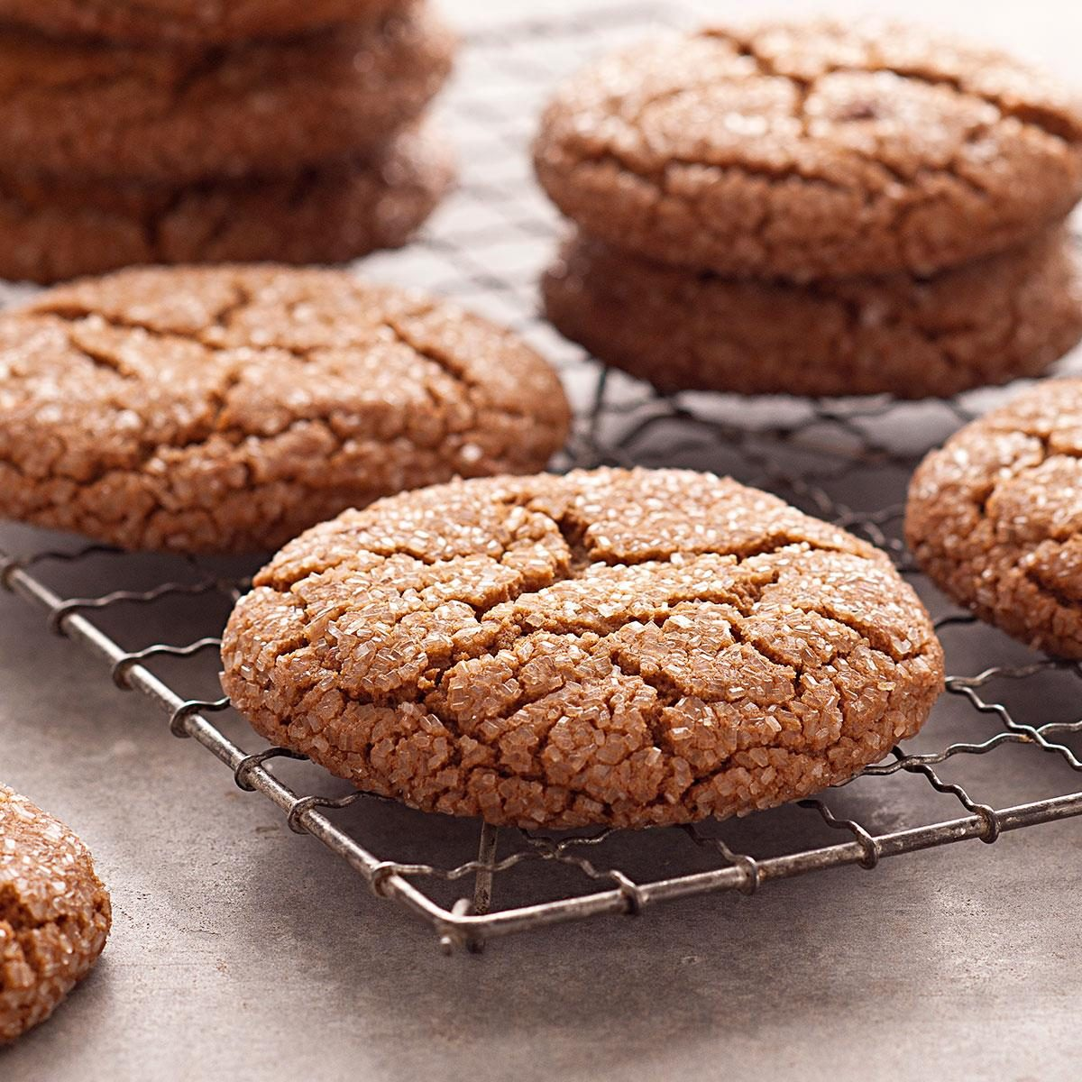 Giant Molasses Cookies Recipe | Taste of Home