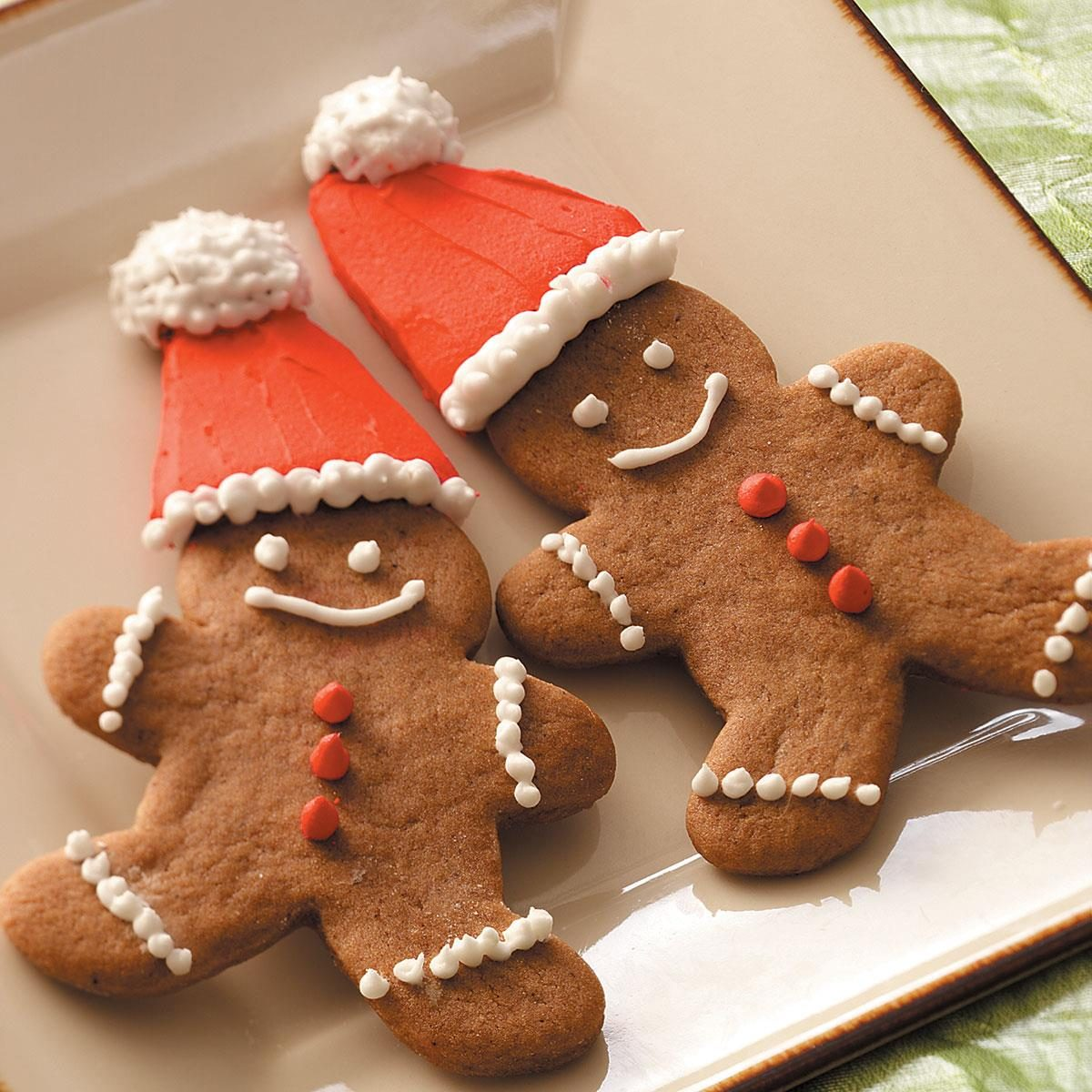 Gingerbread Cookie Cutouts Recipe | Taste of Home