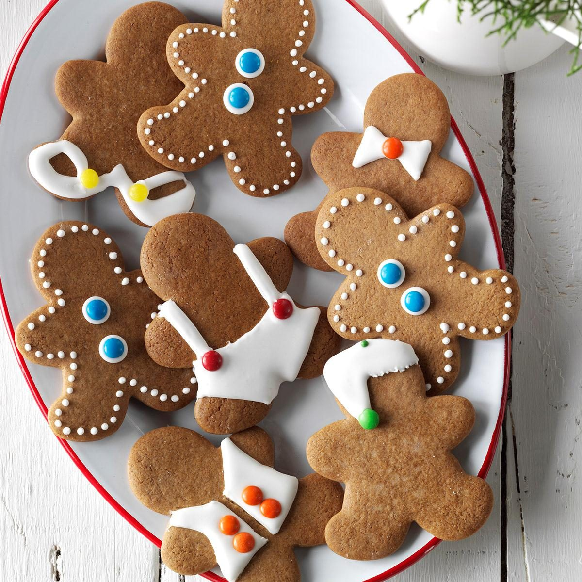This is an image of Influential Gingerbread Men Image