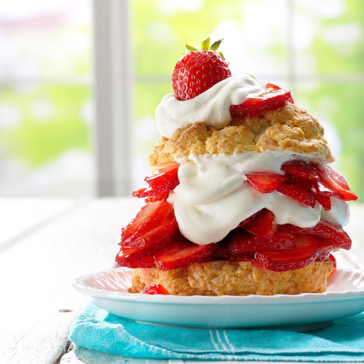 Grandma 39 S Old Fashioned Strawberry Shortcake Recipe