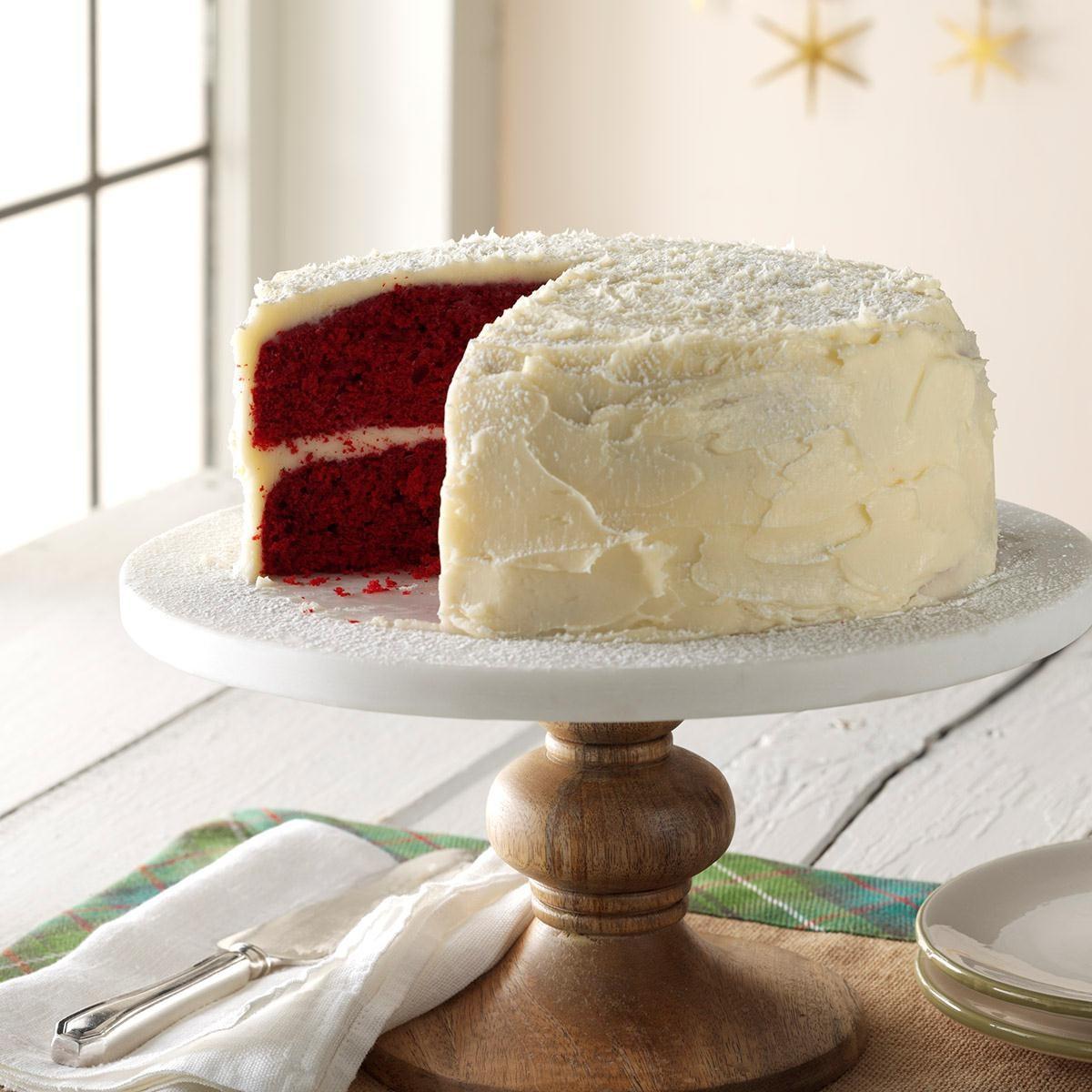 Taste of home peppermint red velvet cake recipe