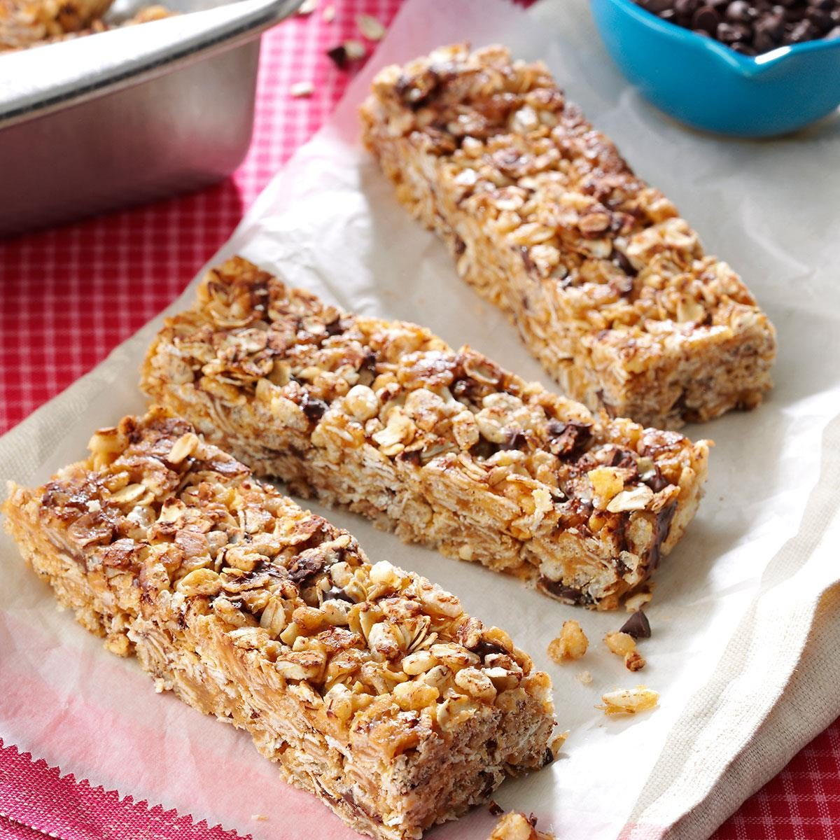 Granola cereal bars recipe taste of home ccuart Images