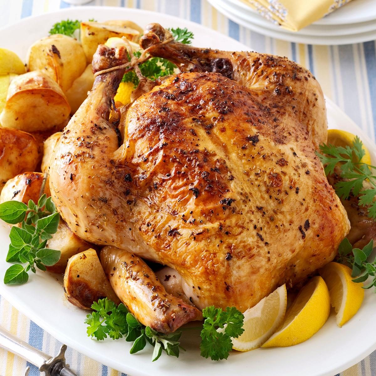 Taste Of Home How To Roast Chicken Recipes