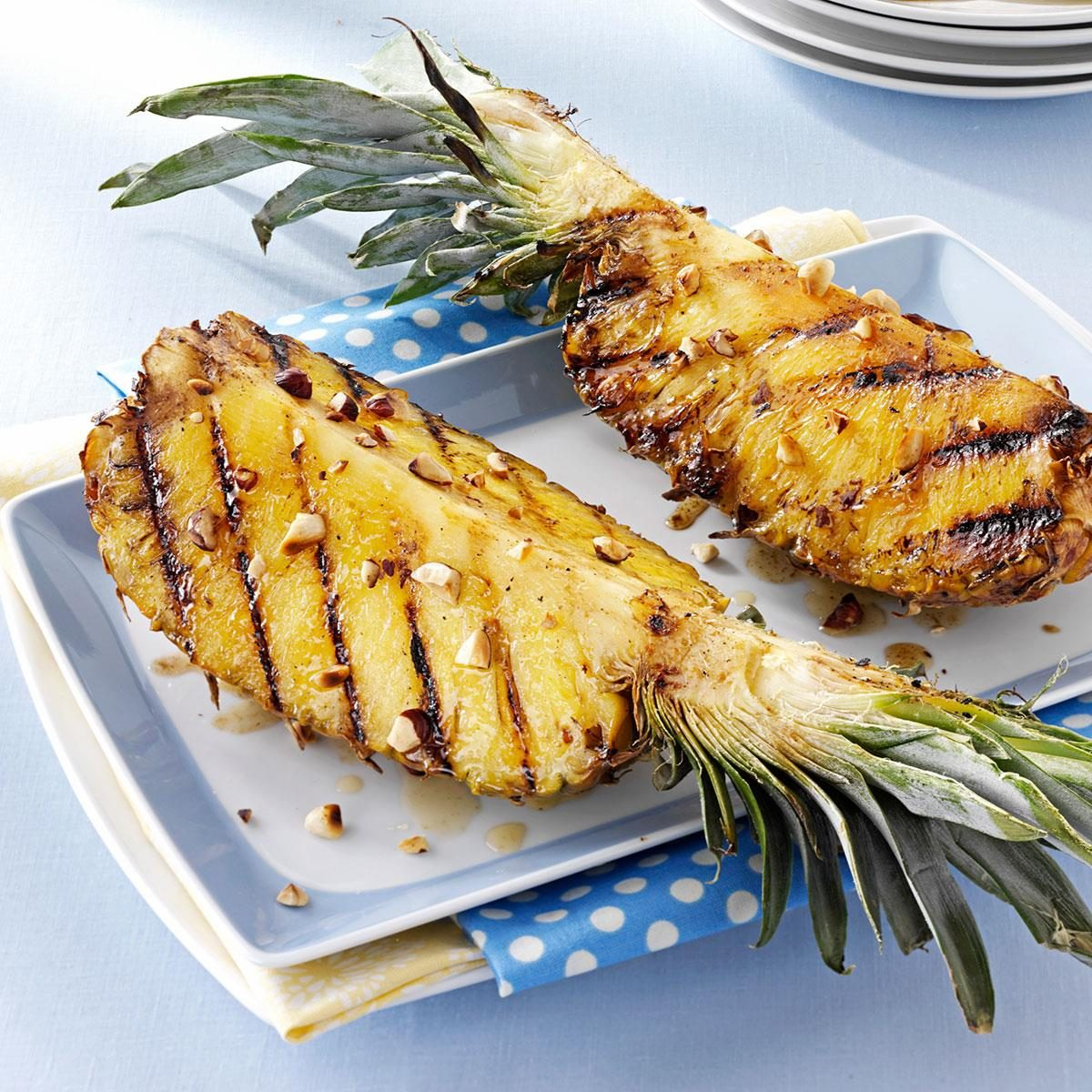Grilled Pineapple Recipe | Taste of Home