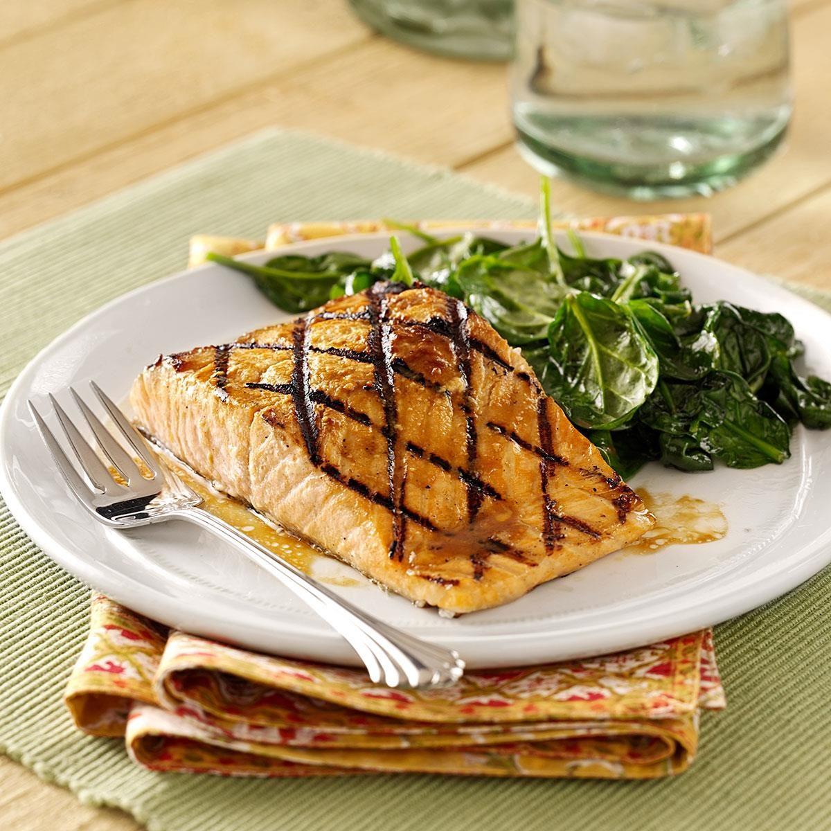 Grilled Salmon Kyoto Recipe