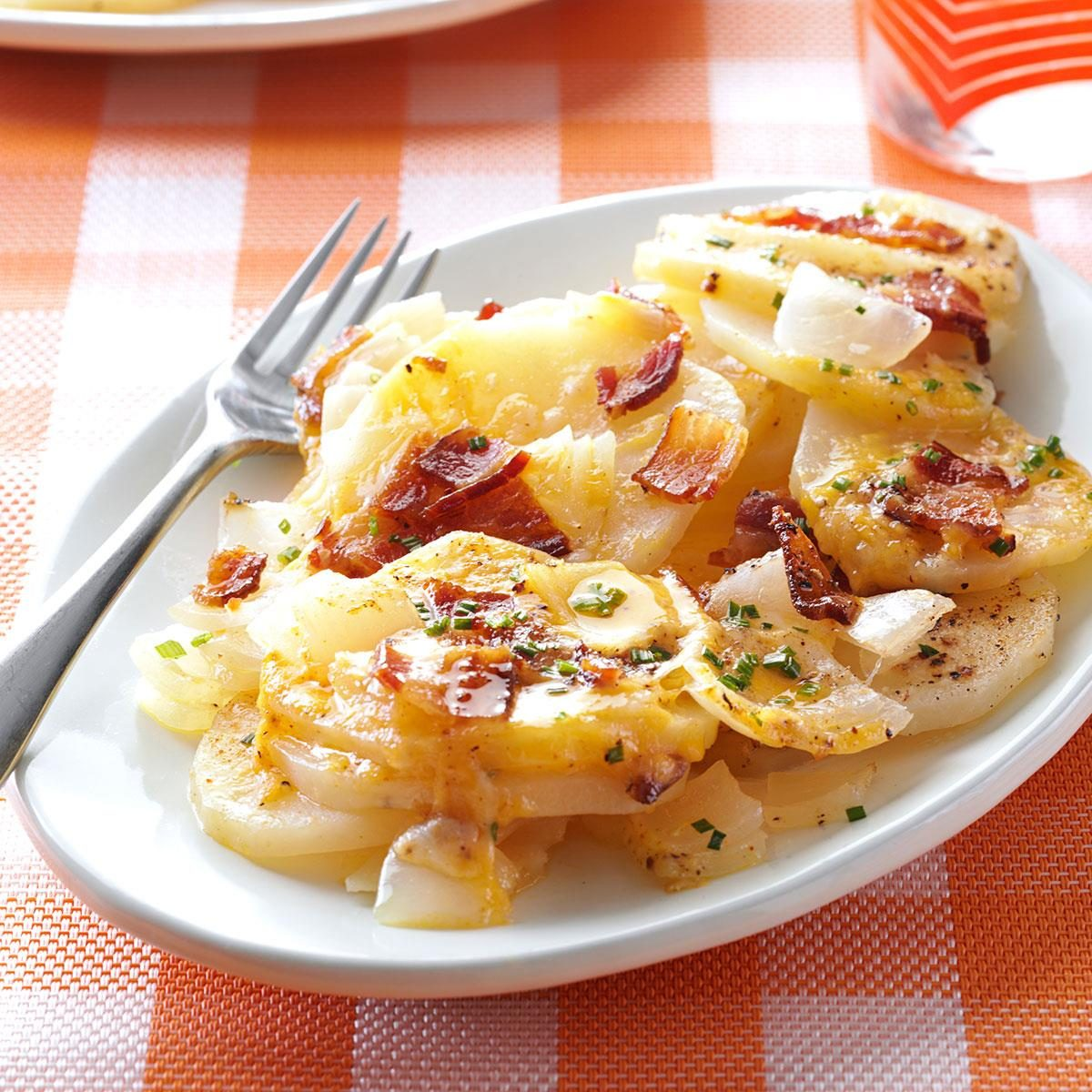 Grilled Three-Cheese Potatoes Recipe