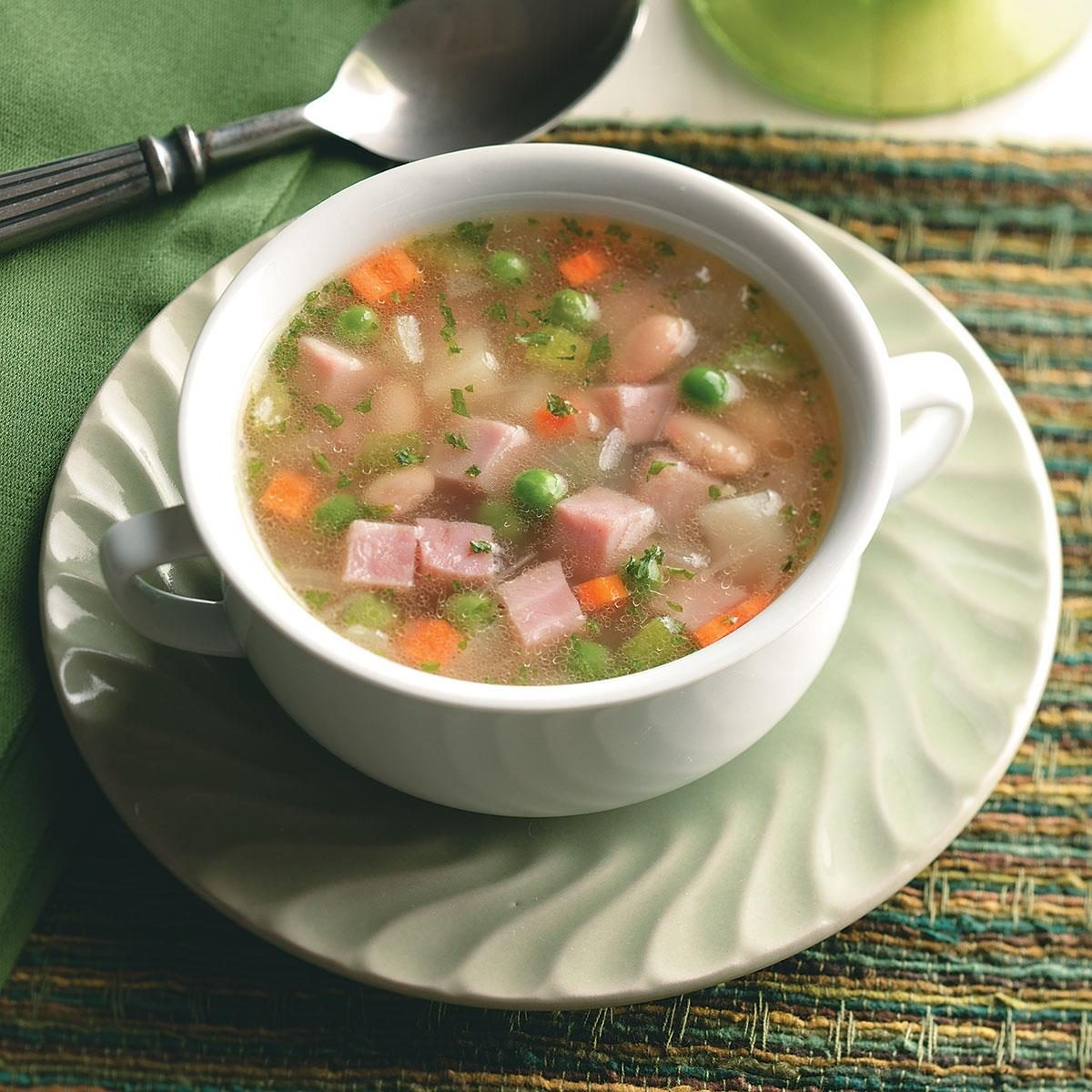 Ham, Bean and Potato Soup Recipe | Taste of Home