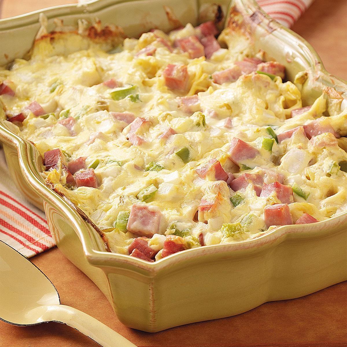 Ham And Swiss Casserole Recipe