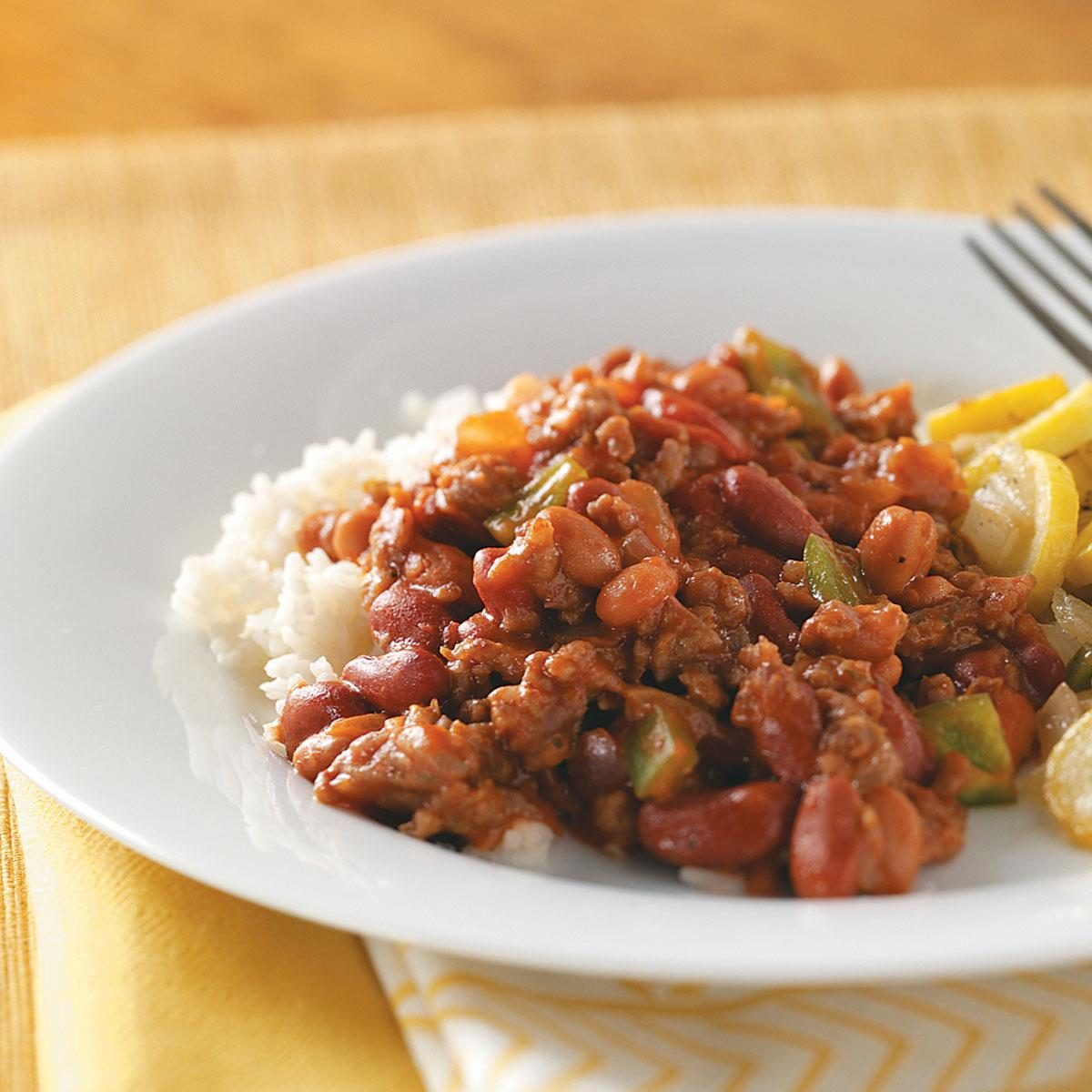 Hearty Red Beans & Rice Recipe | Taste of Home