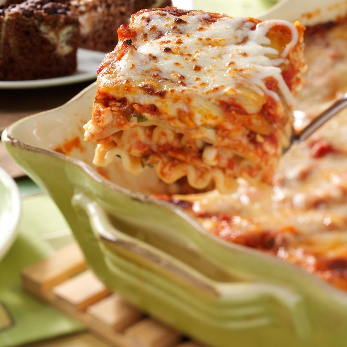 Herbed Chicken Lasagna Recipe