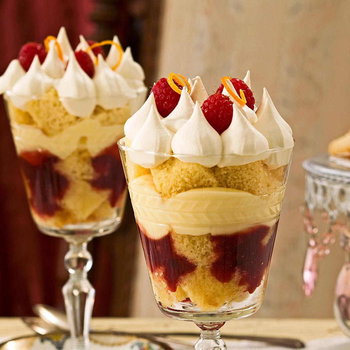 Holiday English Trifles Recipe Taste Of Home