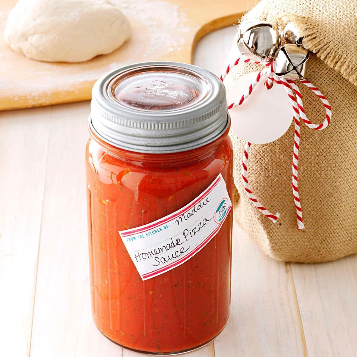 Homemade Pizza Sauce Recipe Taste Of Home
