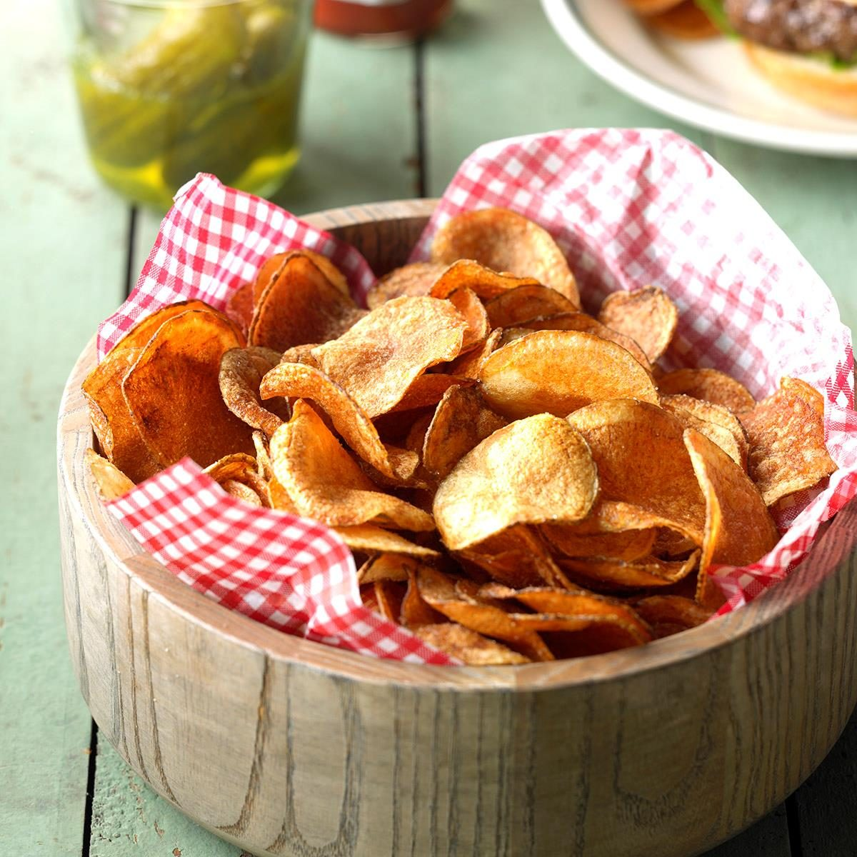 36 allergy free treats you can bring to the classroom taste of home homemade potato chips forumfinder Images