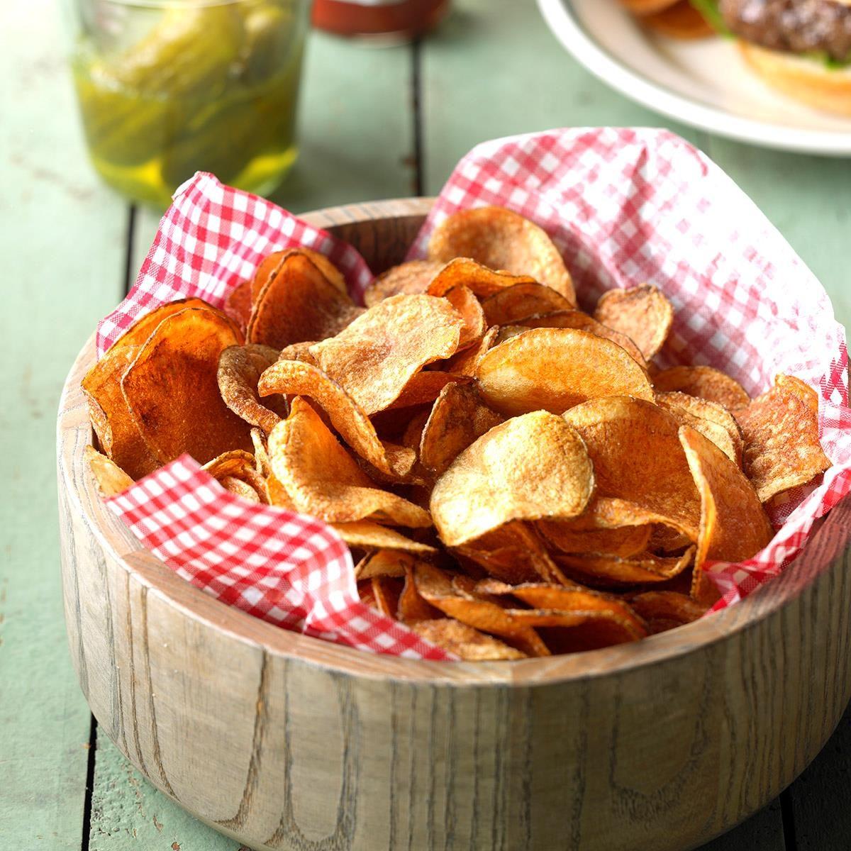 Get Recipe Homemade Potato Chips