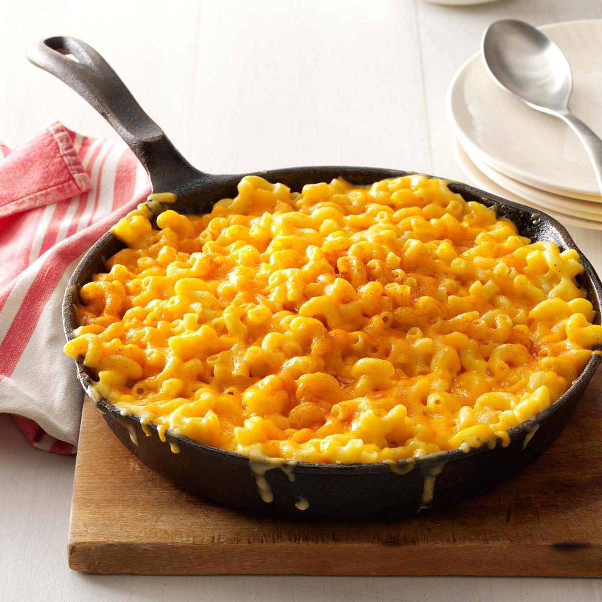 Super Bowl Appetizers Homey Mac Amp Cheese Recipe Taste Of Home