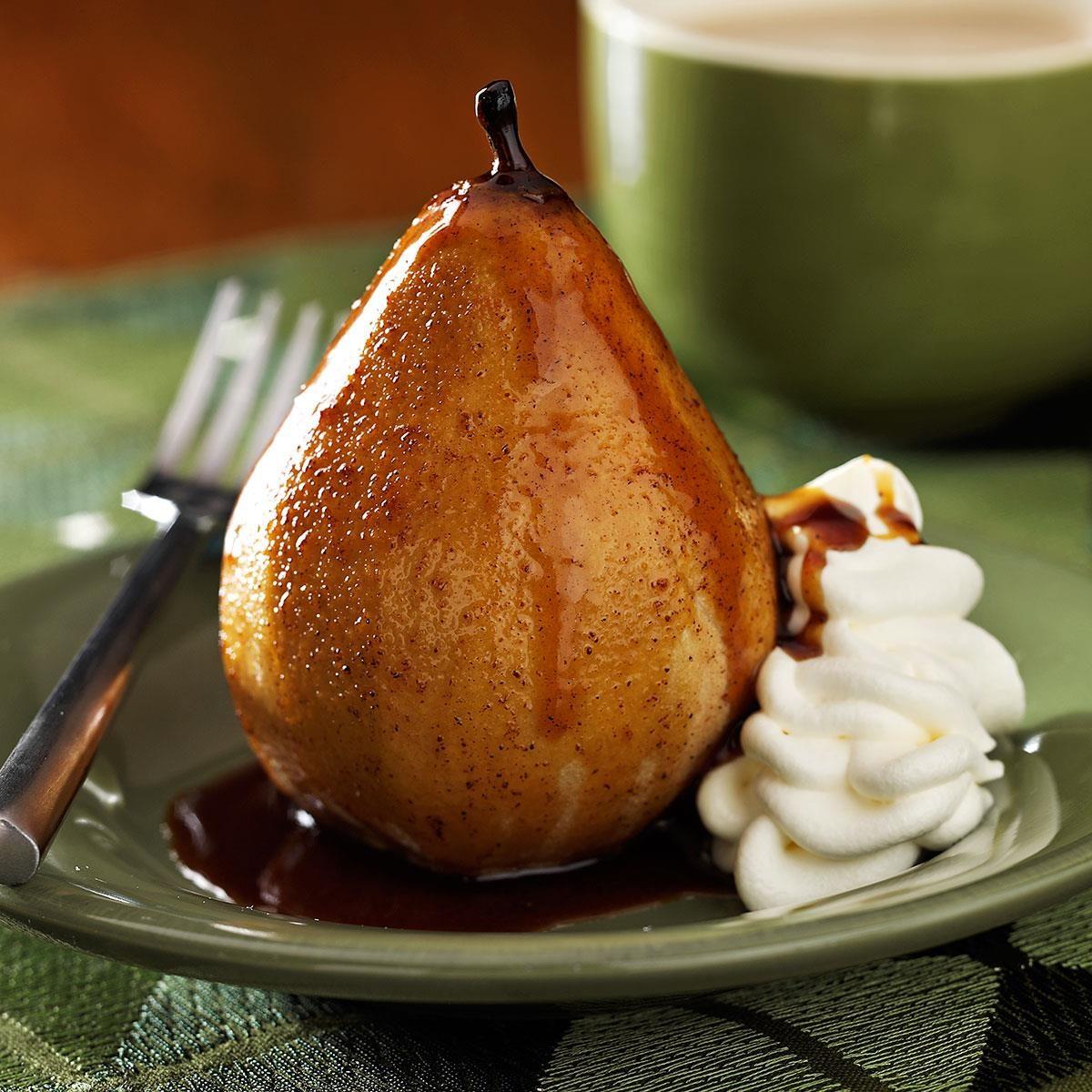 Honey Roasted Pears Recipe | Taste of Home