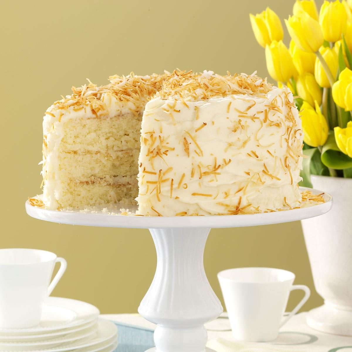 Southern Style Coconut Cake Recipe